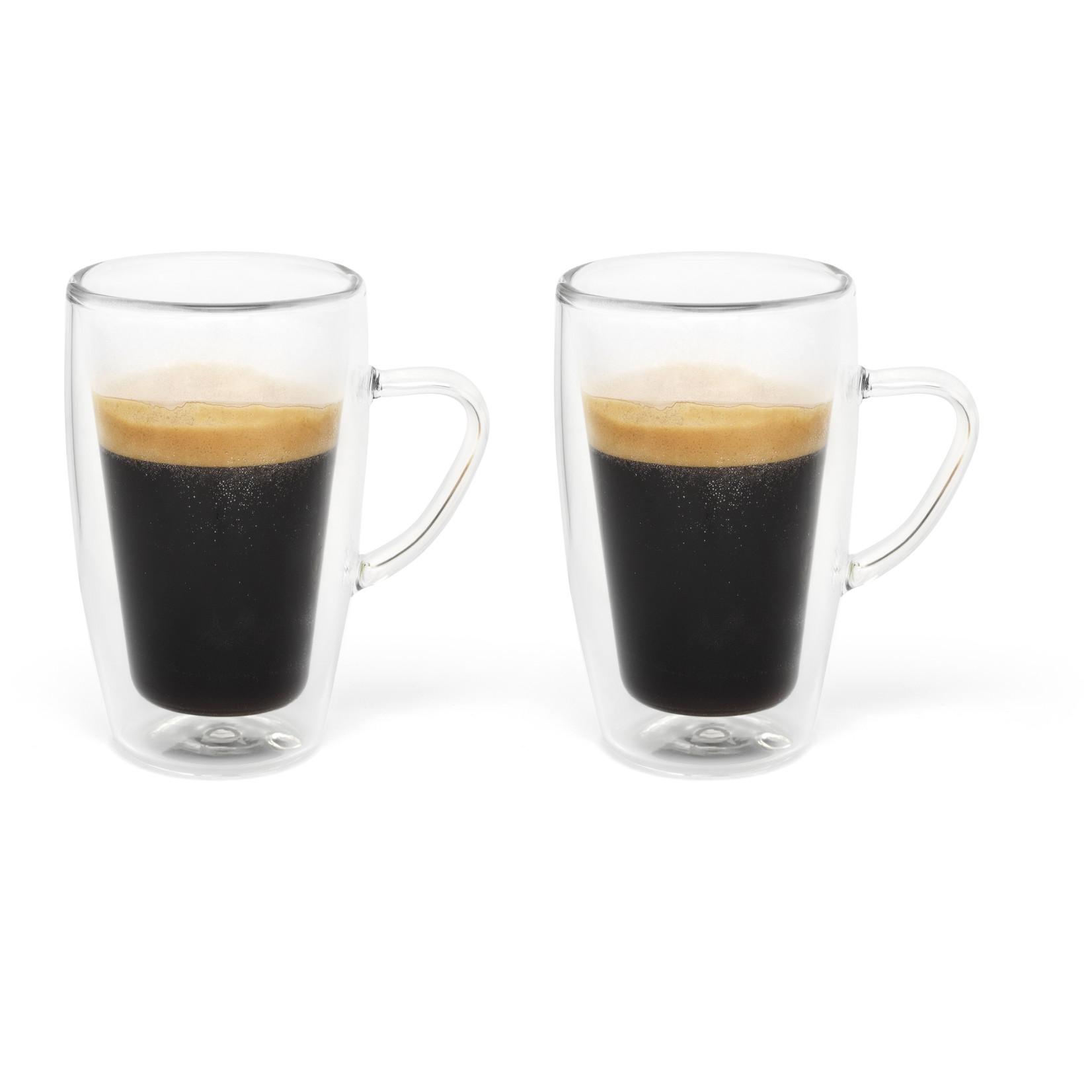 Bredemeijer Bredemeijer Duo drinkglas Set 2 Dubbelwandig Espresso glas 100ml