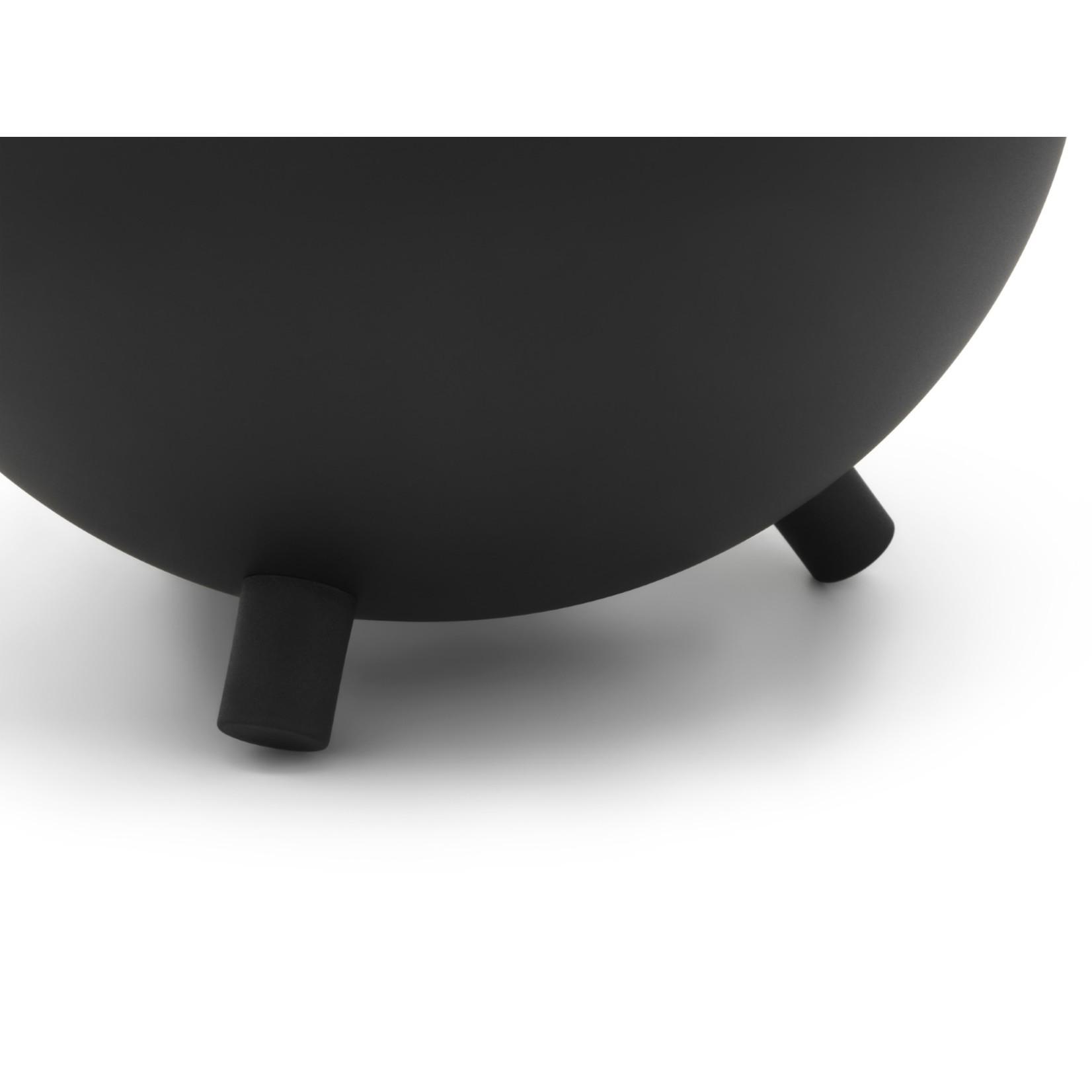 Bredemeijer Bredemeijer Duet Design theepotten Theepot Duet Design Saturn mat zwart 1,2L