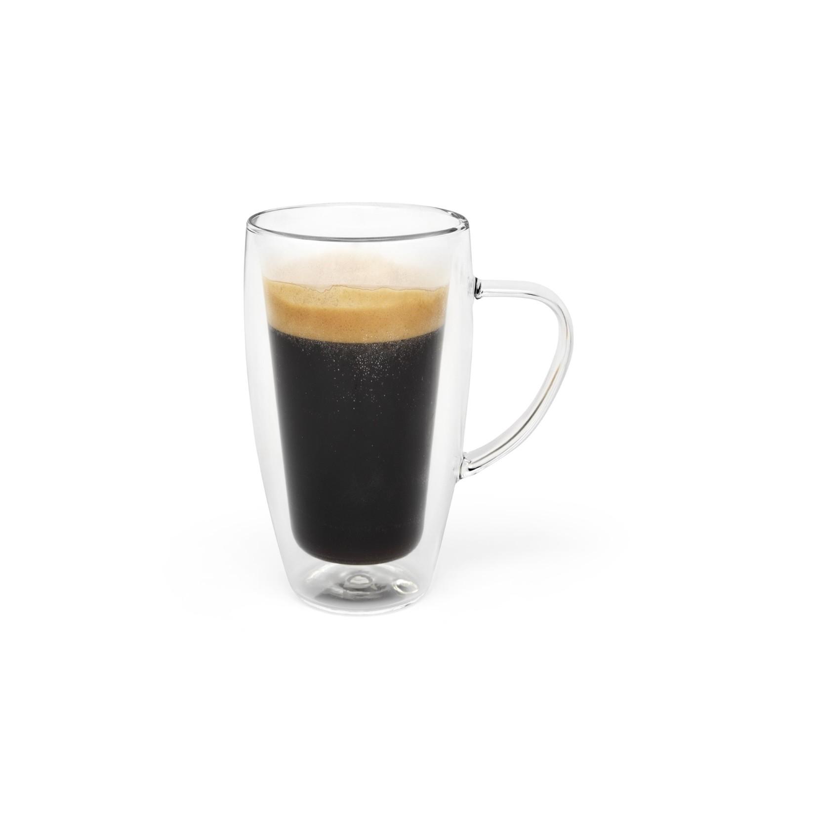 Bredemeijer Bredemeijer Dubbelwandinge koffie of theeglas DUO set van 2  320ml