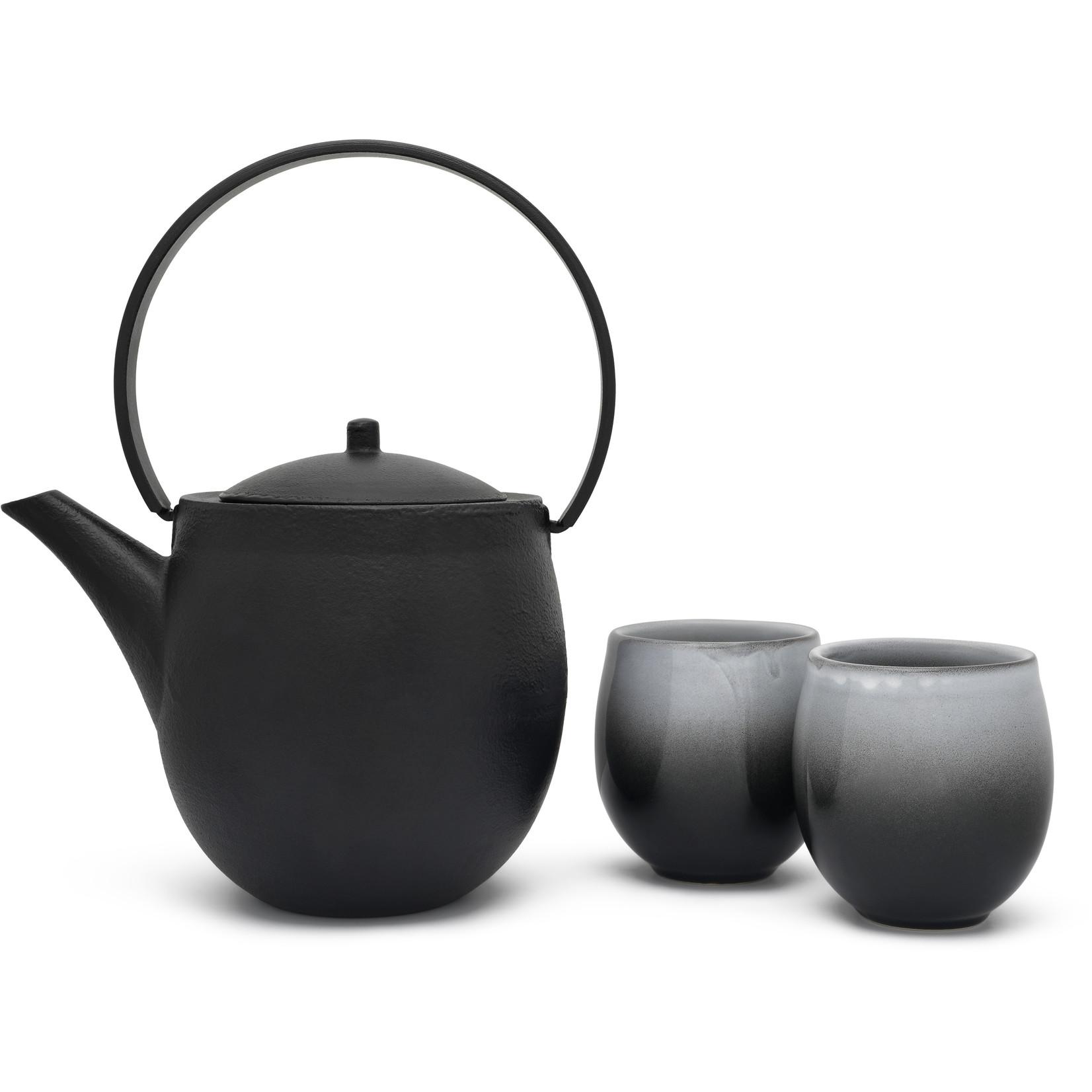 Bredemeijer Bredemeijer Asia Sendai theepot 1,2 liter, zwart