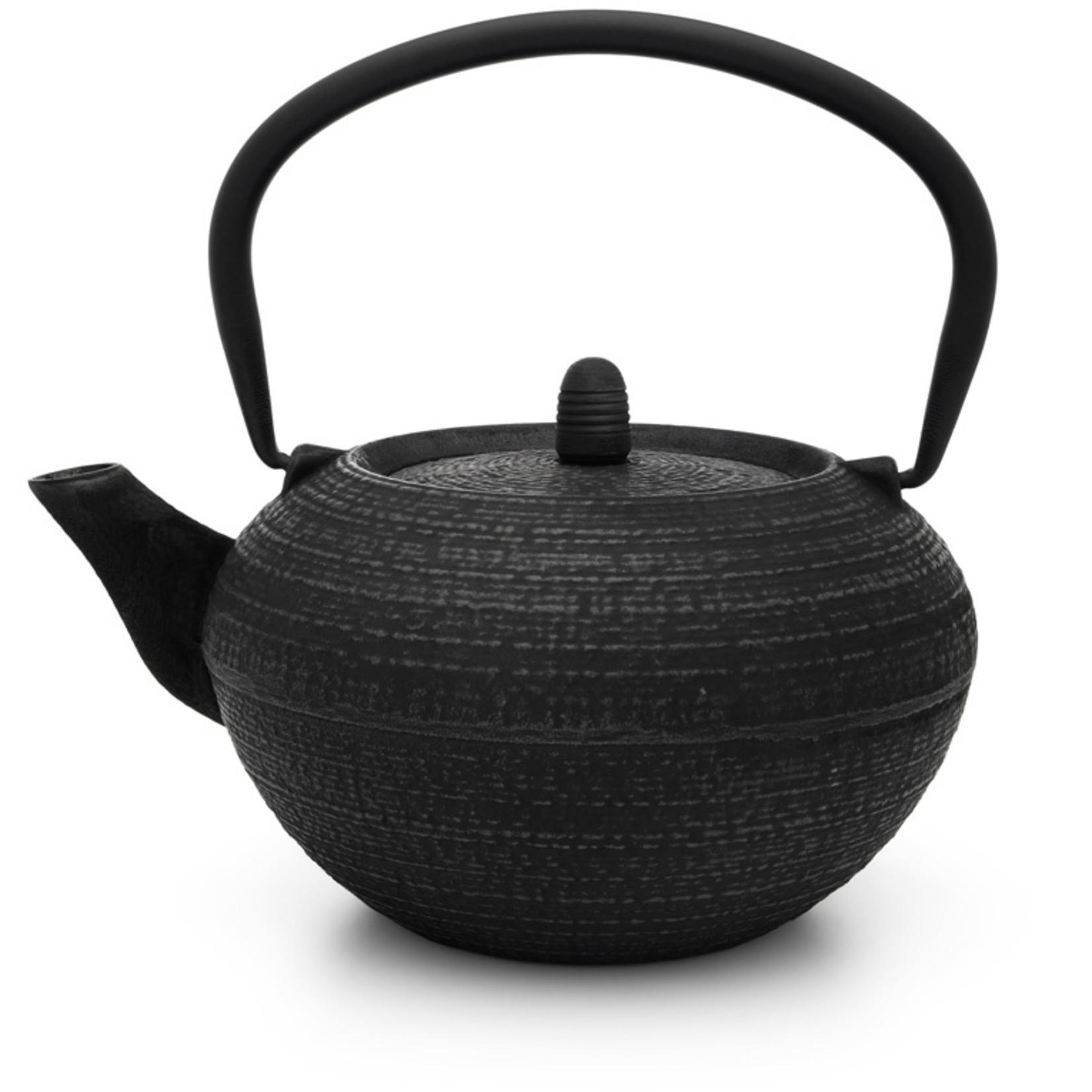 Bredemeijer Bredemeijer Asia Tibet theepot 1,2 liter, zwart