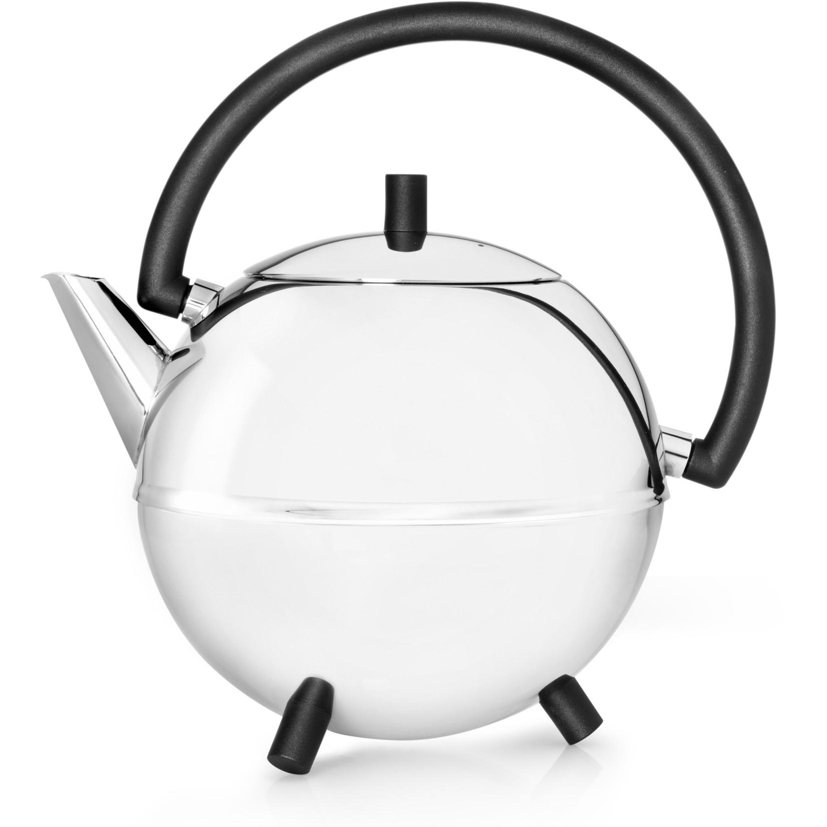 Bredemeijer Bredemeijer Duet Saturn Theepot Mat zwart beslag 1,2 ltr