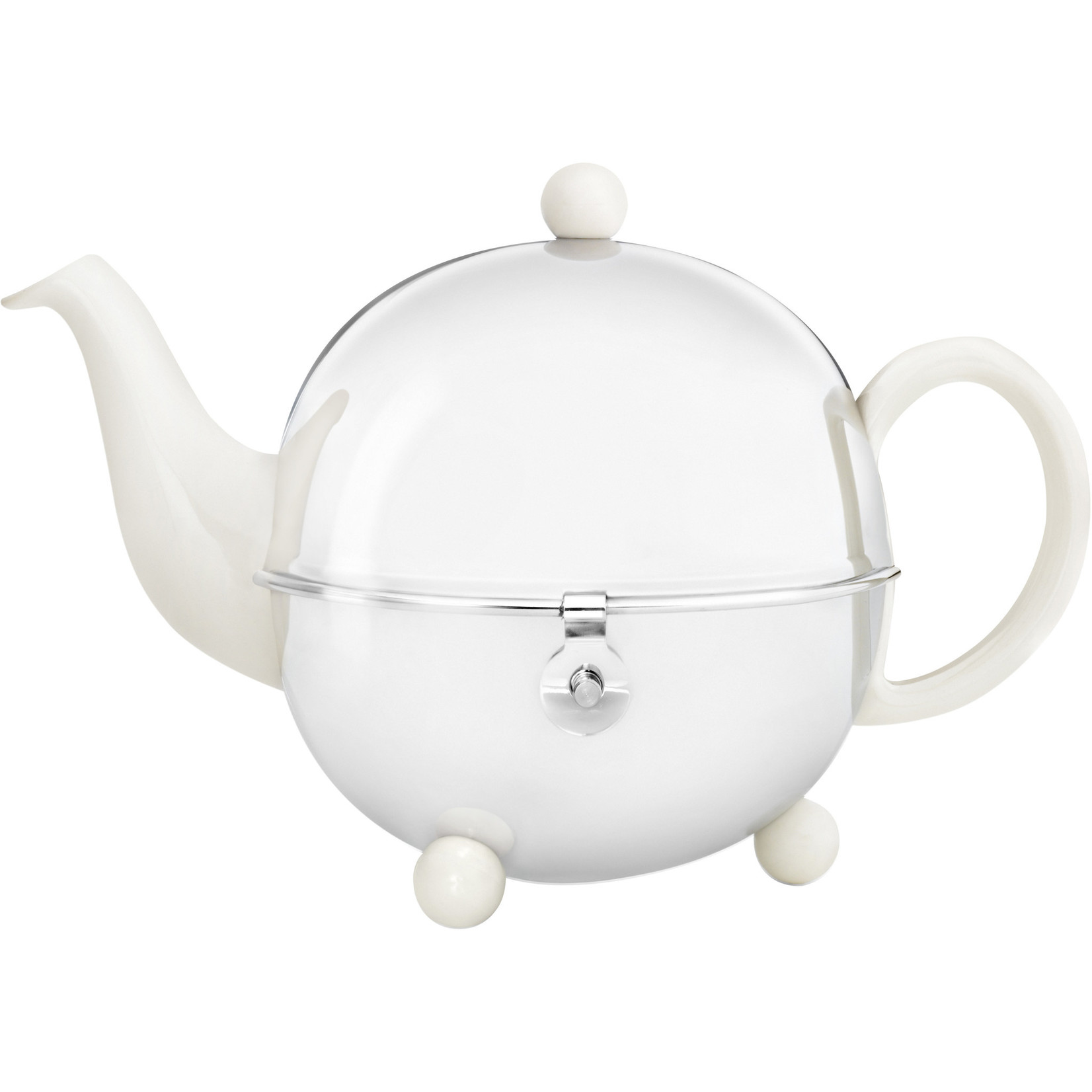 Bredemeijer Bredemeijer Cosy Theepot crème-wit 0,9 ltr