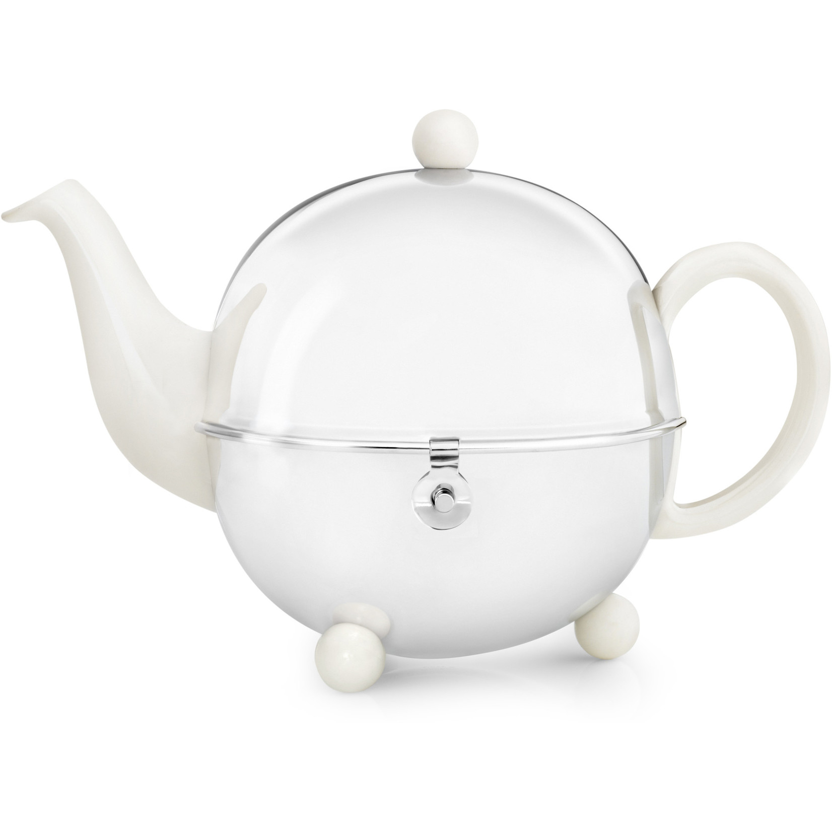 Bredemeijer Bredemeijer Cosy Theepot crème-wit 1,3 ltr