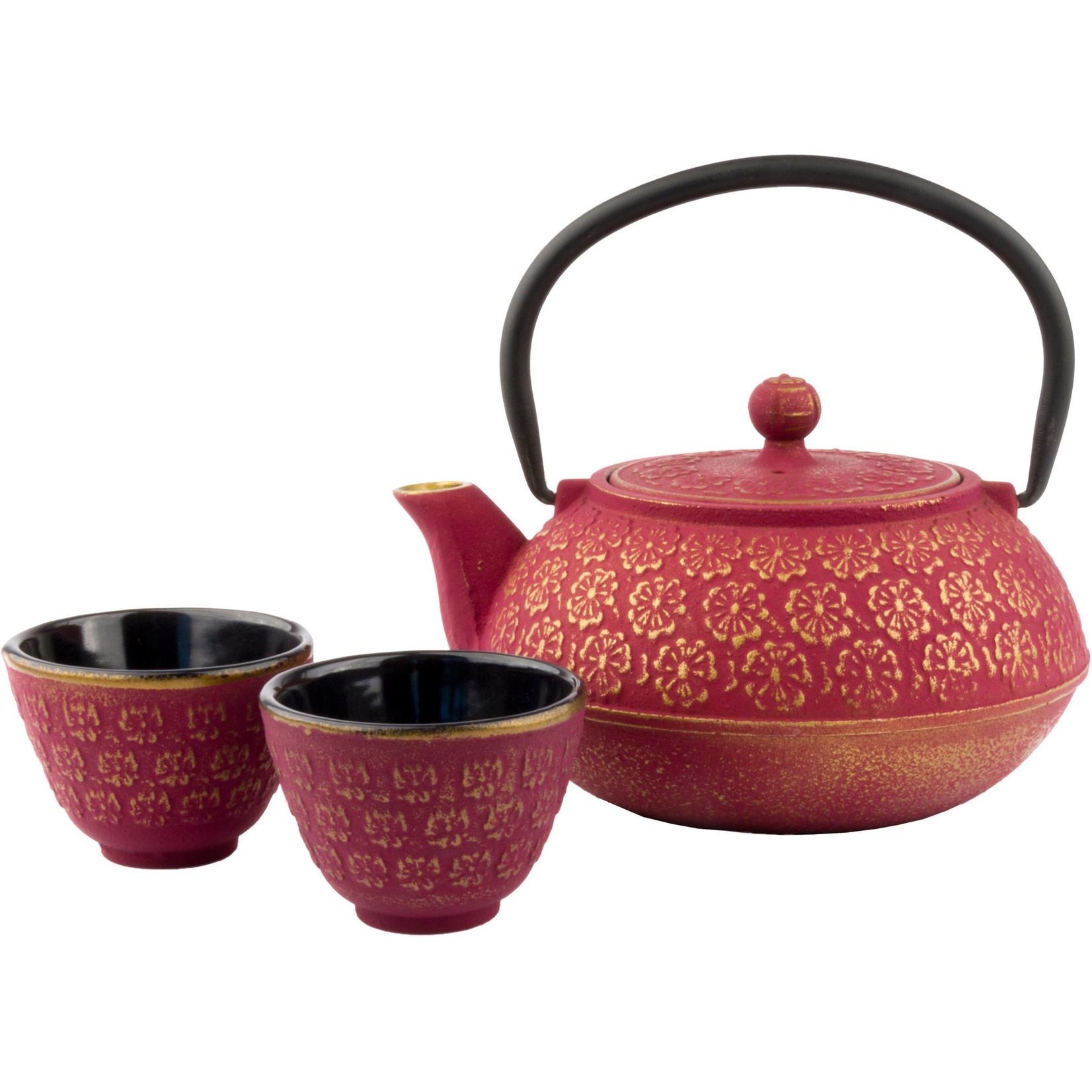 Bredemeijer Bredemeijer Asia Shanghai Giftset roze/goud 0,6 ltr