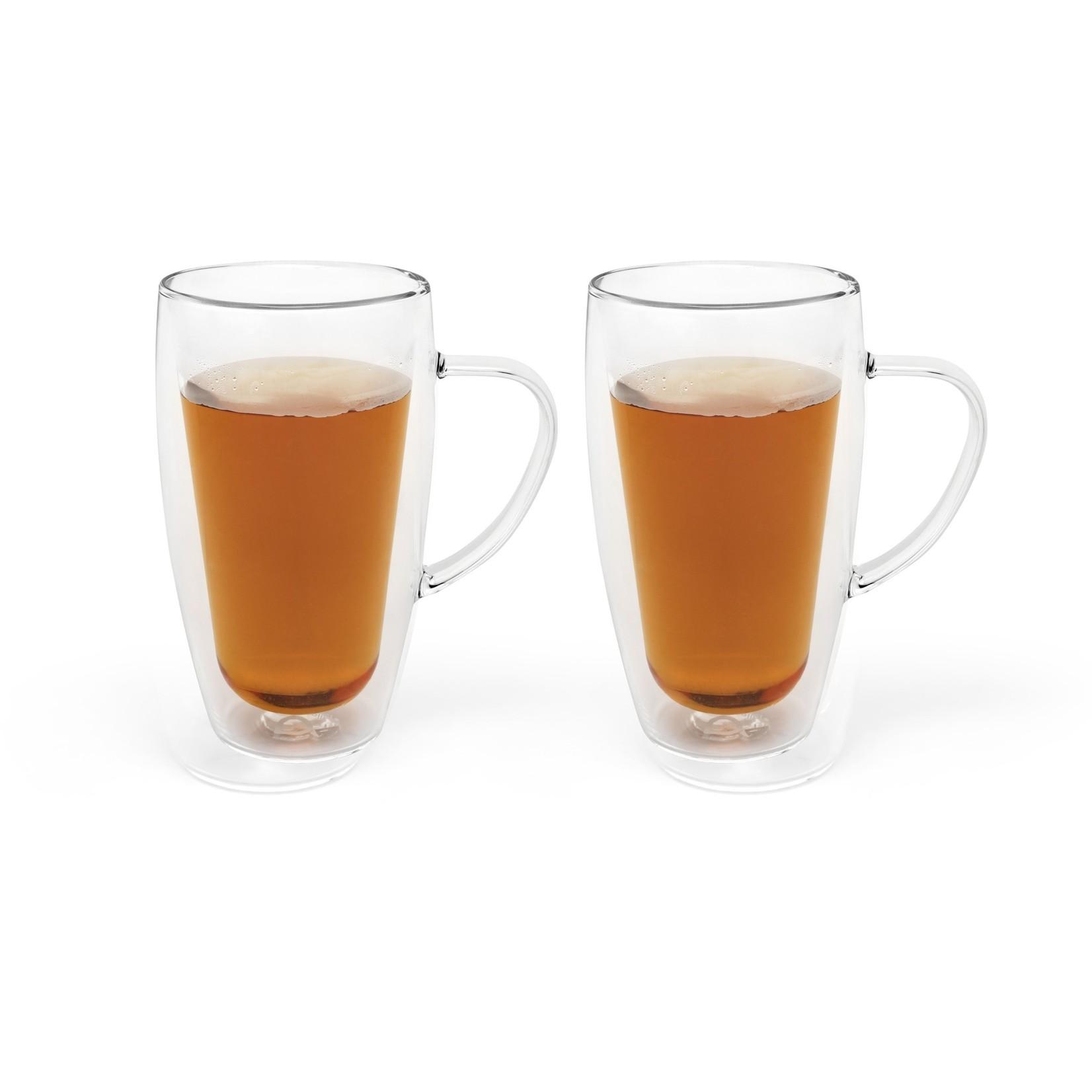 Bredemeijer Bredemeijer Duo drinkglas Set/2 dubbelwandig glas koffie/thee 295ml