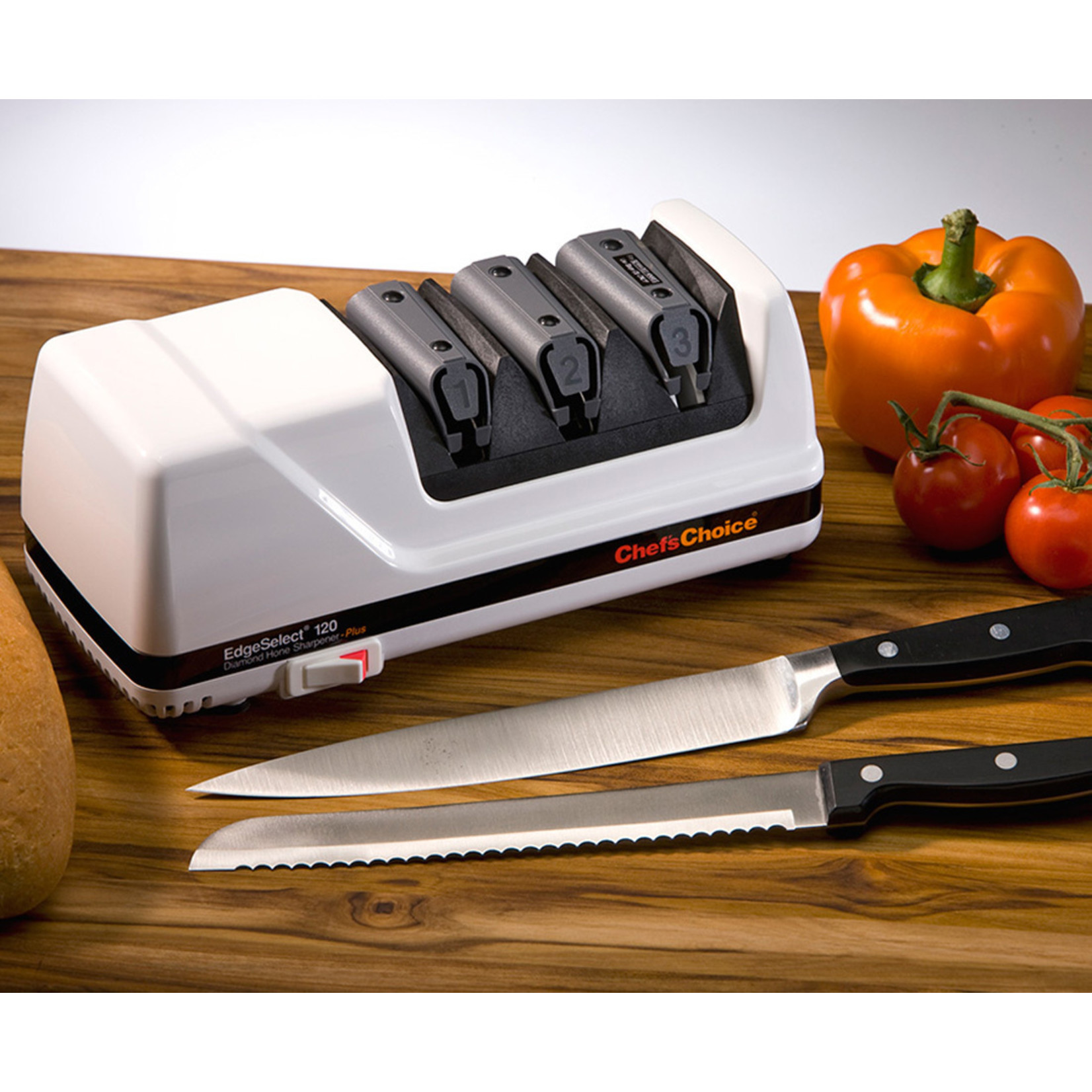 ChefsChoice Chef's Choice Messenslijper 120 wit