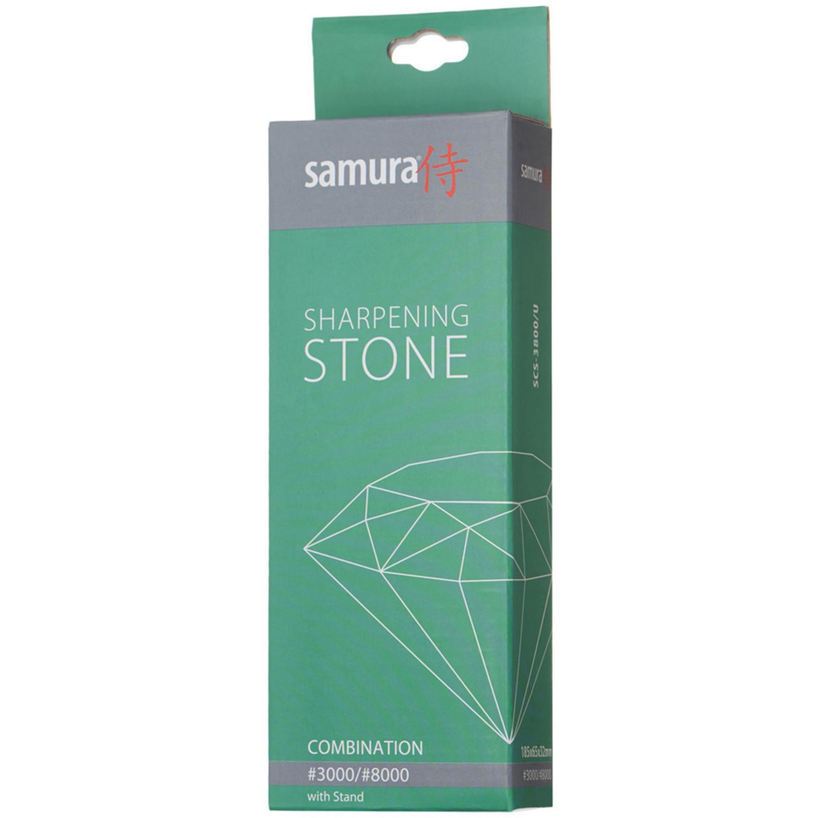 Samura Samura slijpsteen korrel 3000/8000, met houder