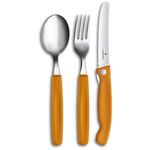 Victorinox Victorinox bestekset 3-delig, inklapbaar mes, oranje