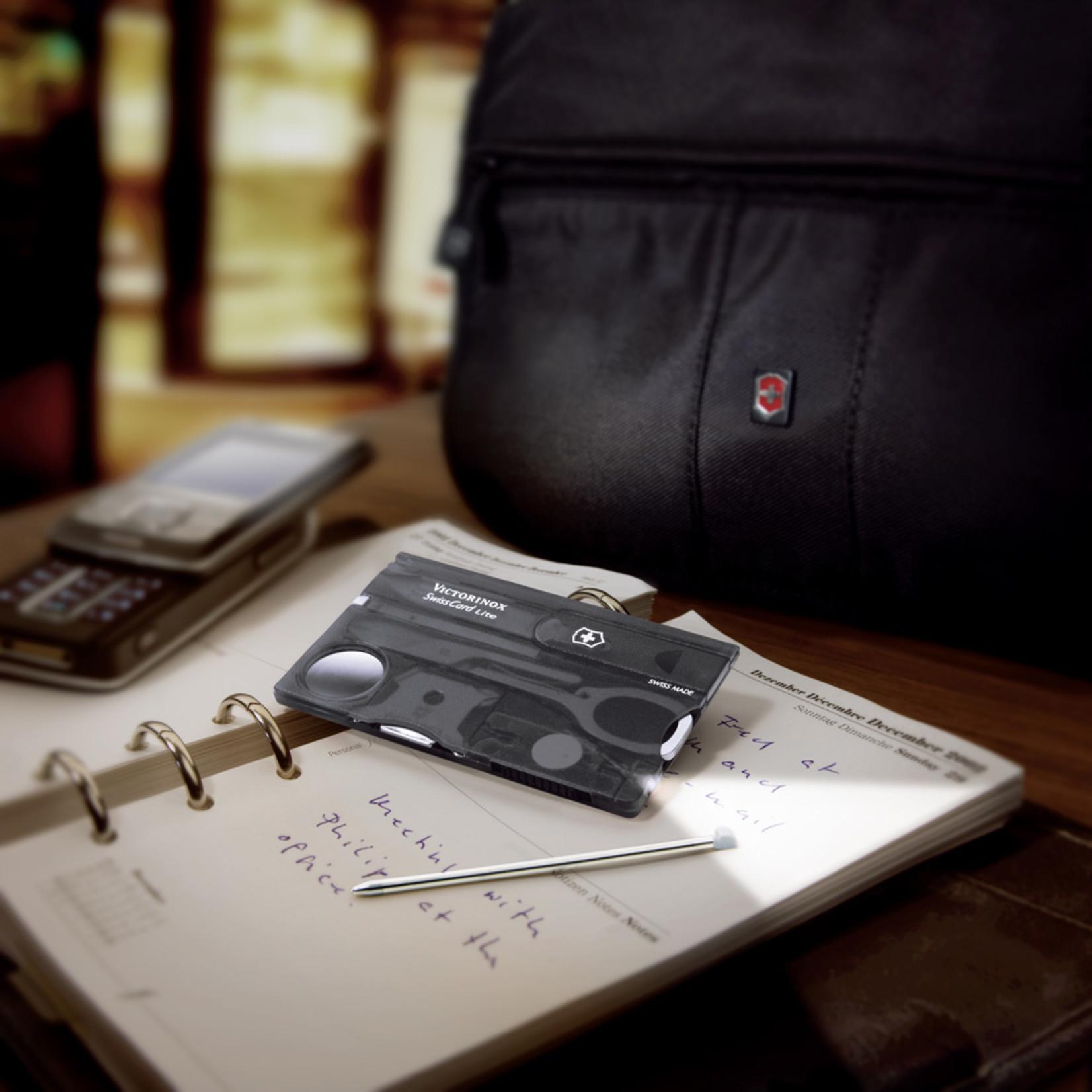 Victorinox Victorinox SwissCard Lite zwart transparant