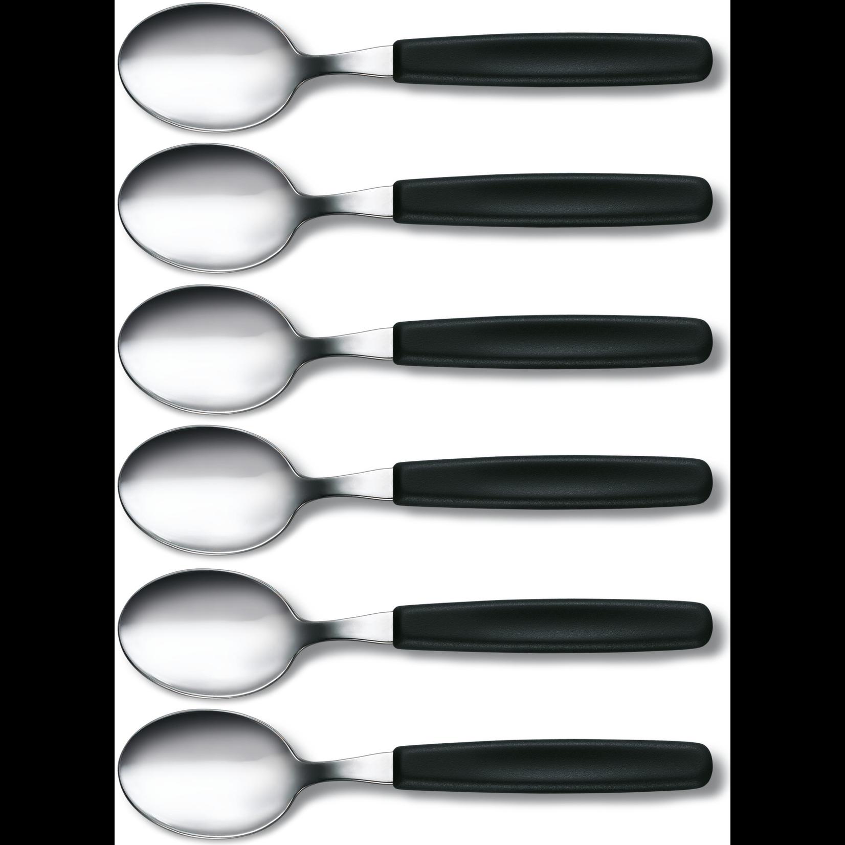 Victorinox Victorinox tafellepels set van 6 zwart