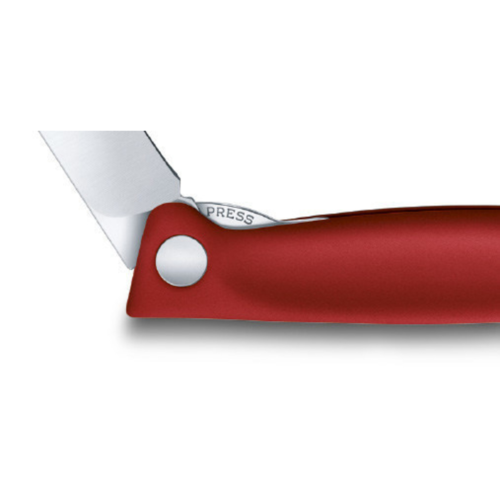 Victorinox Victorinox tafelmes inklapbaar, gladde snede, rood