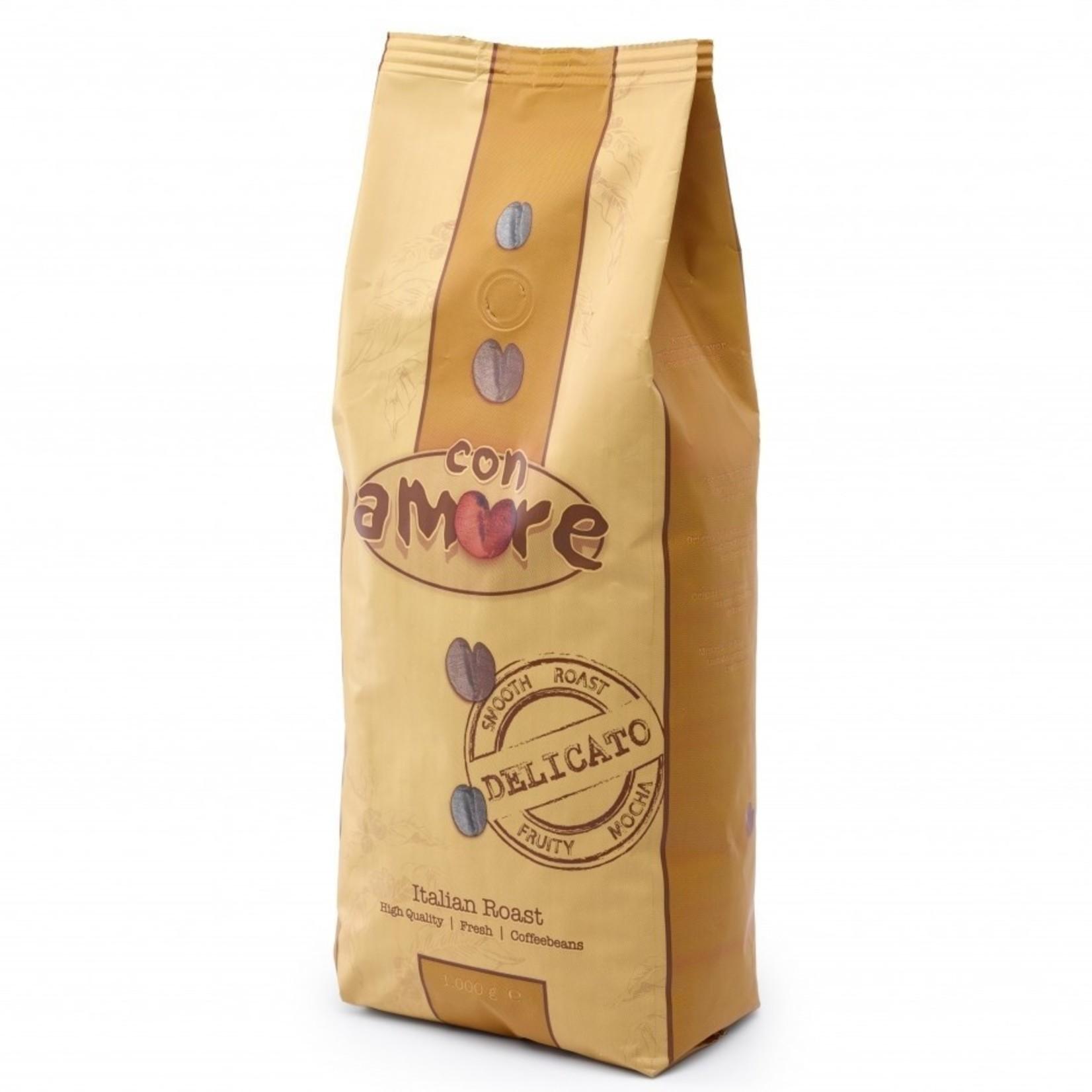 Caffe con Amore Caffe con Amore Delicato Espressobonen 1kg