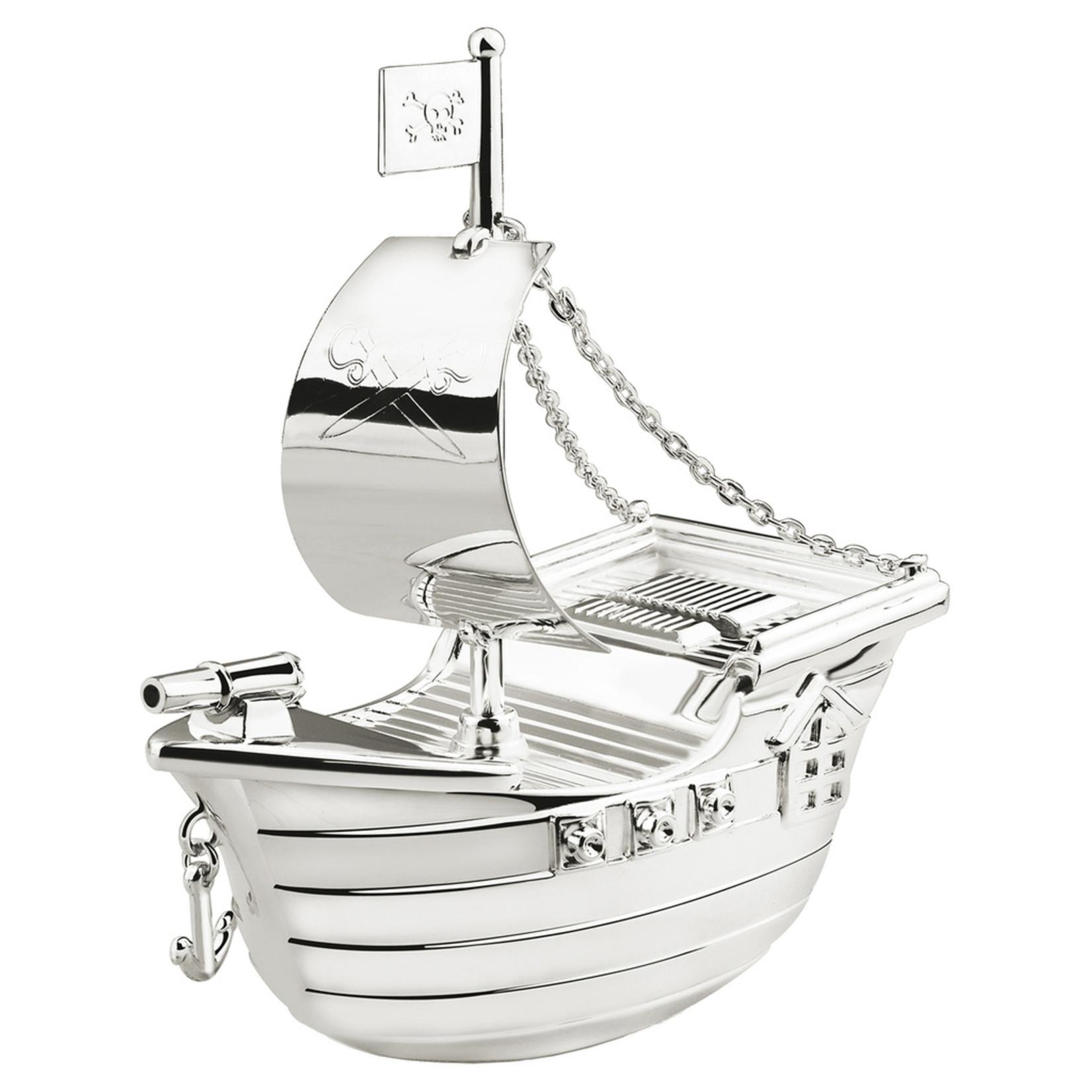 Zilverstad Zilverstad Spaarpot Piratenboot