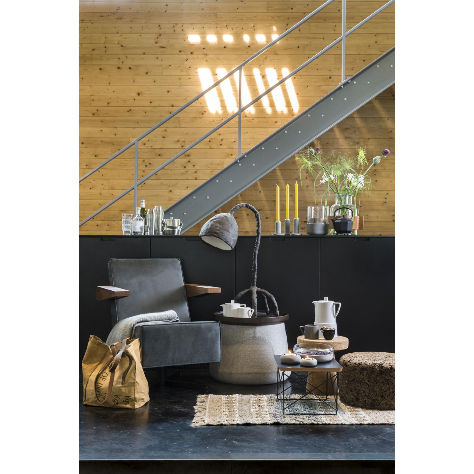 Zilverstad Zilverstad Schaal Solido combinatie van cement en glas