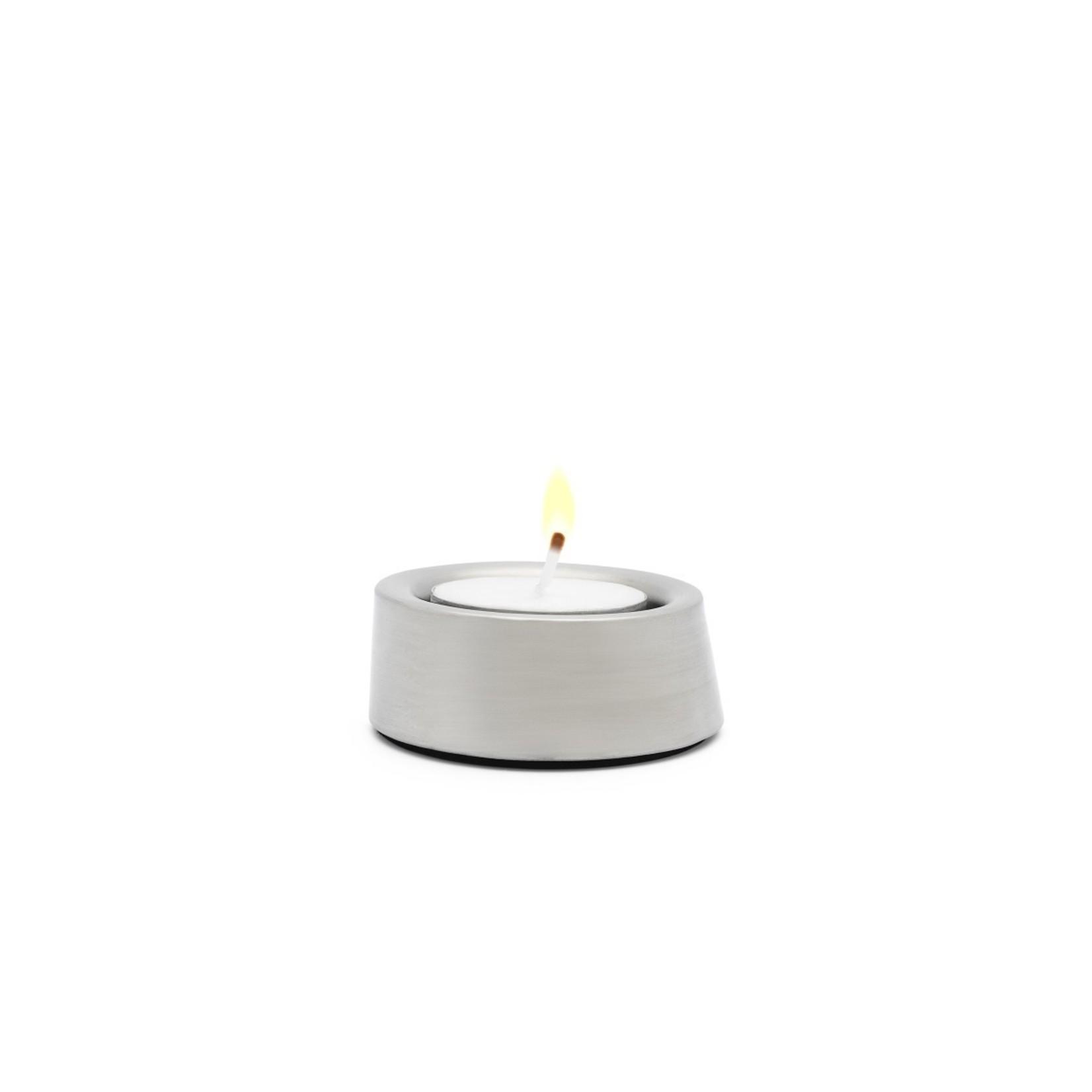 Zilverstad Zilverstad Oblique Waxinelichthouder set van 3