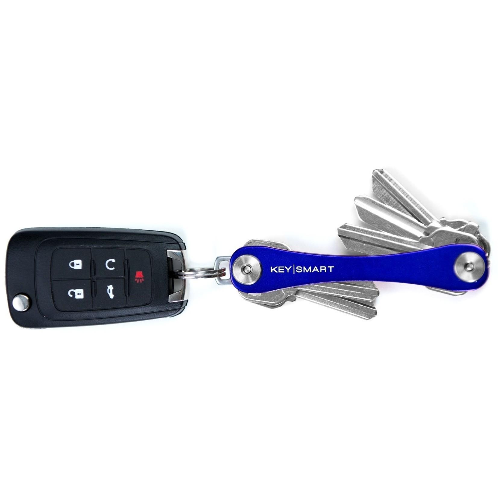 KeySmart KeySmart Compact sleutelhouder blauw