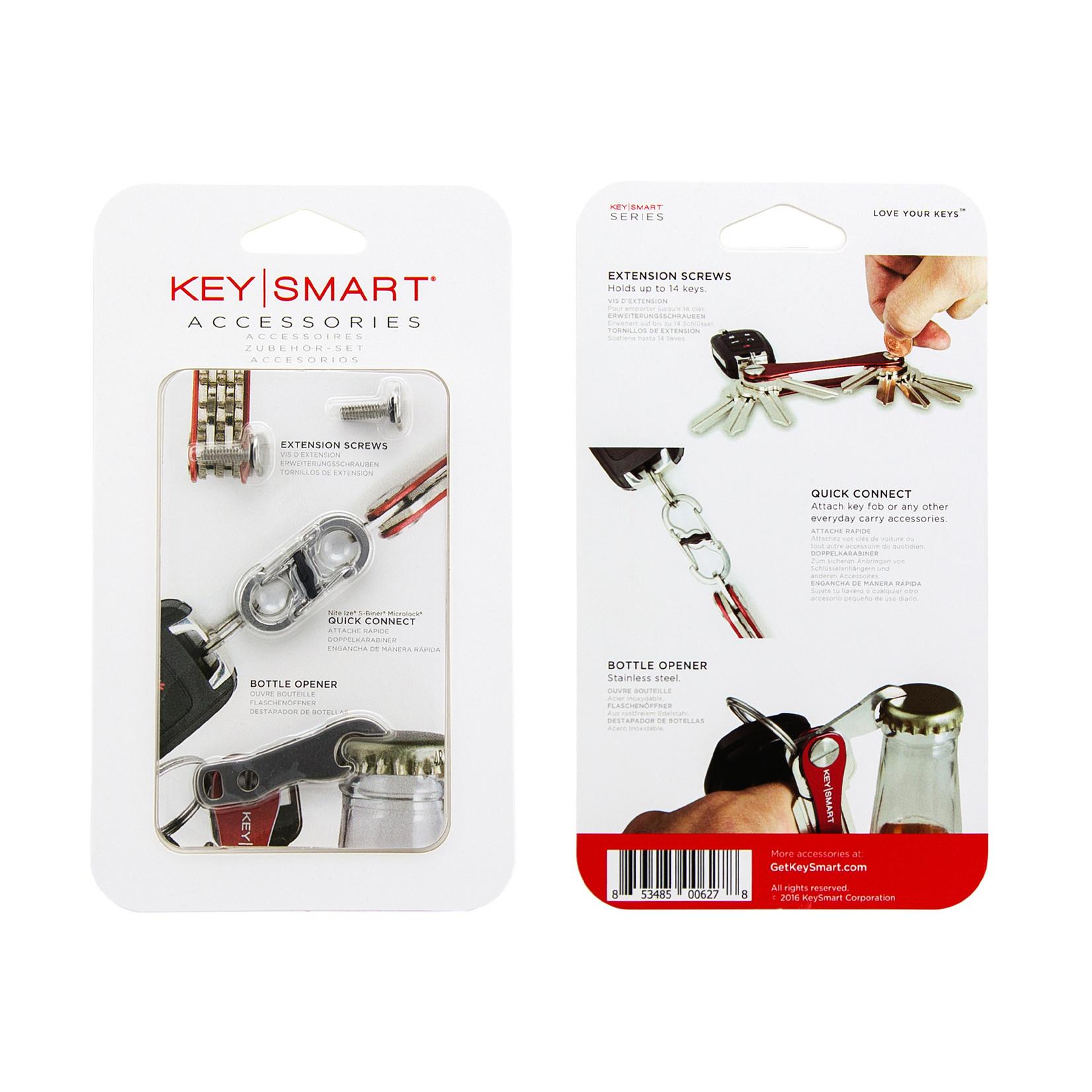 KeySmart Keysmart accessoire set voor Compact en Rugged