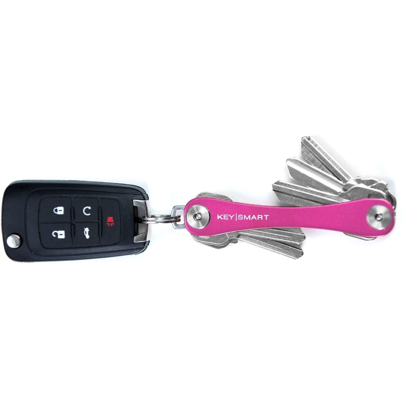 KeySmart KeySmart Compact sleutelhouder Roze