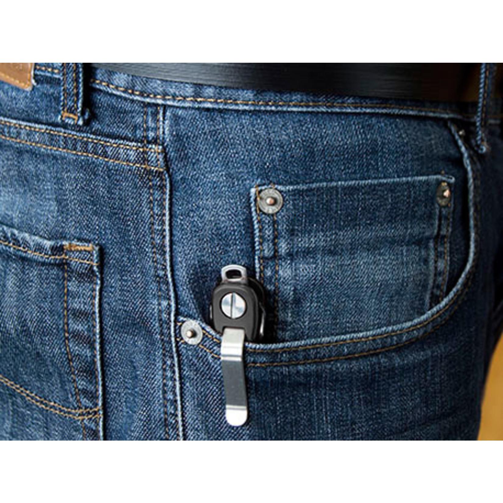 KeySmart KeySmart Rugged sleutelhouder zwart