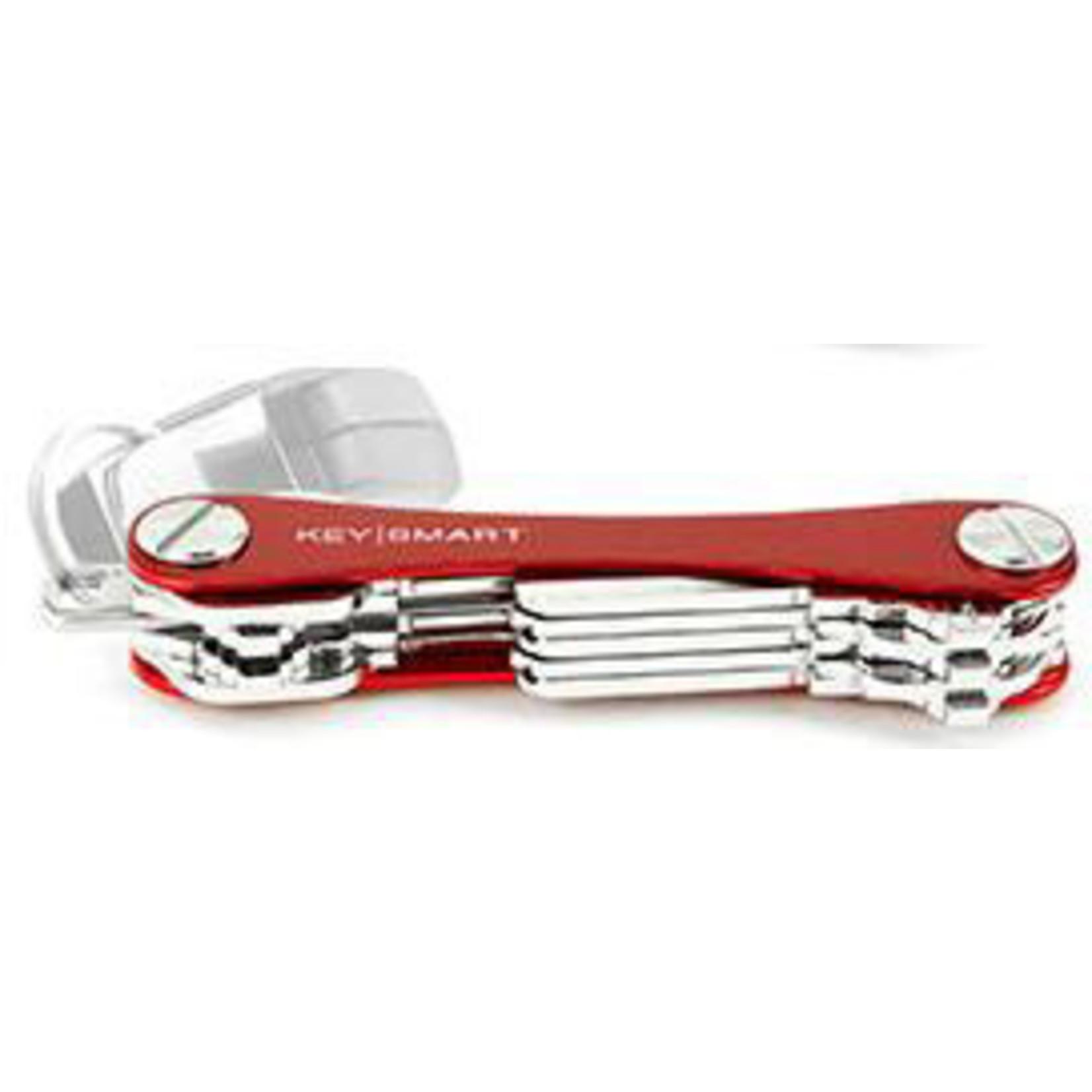 KeySmart KeySmart Compact sleutelhouder rood
