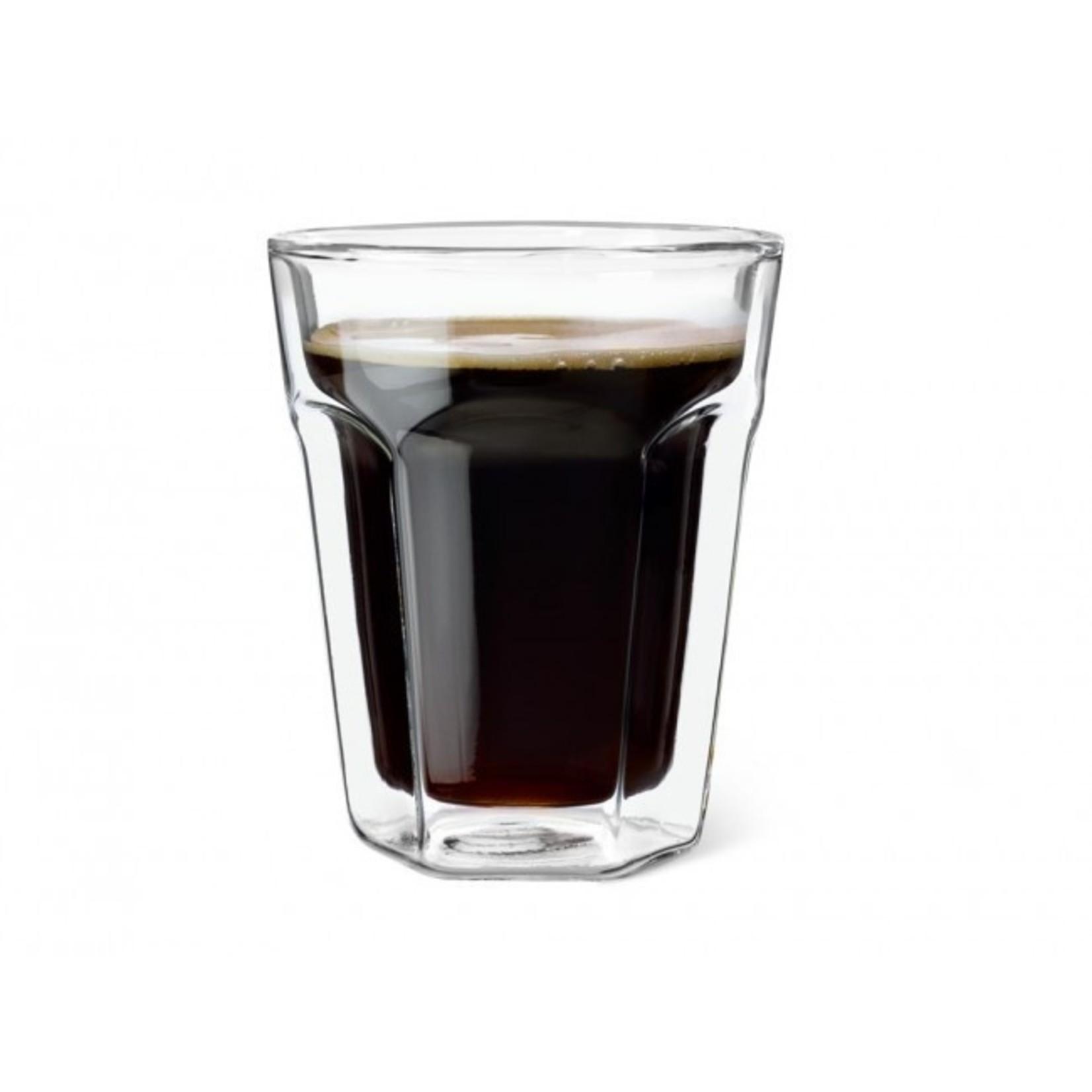 Leopold Vienna Leopold Vienna Dubbelwandig Glas Koffie 220ml S/2