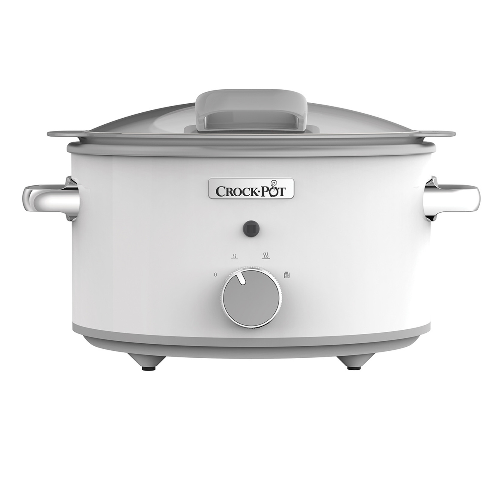 Crock-Pot Crock-Pot DuraCeramic slowcooker Saute 4,5L wit met klapdeksel