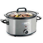 Crock-Pot Premium slowcooker RVS 3,5L