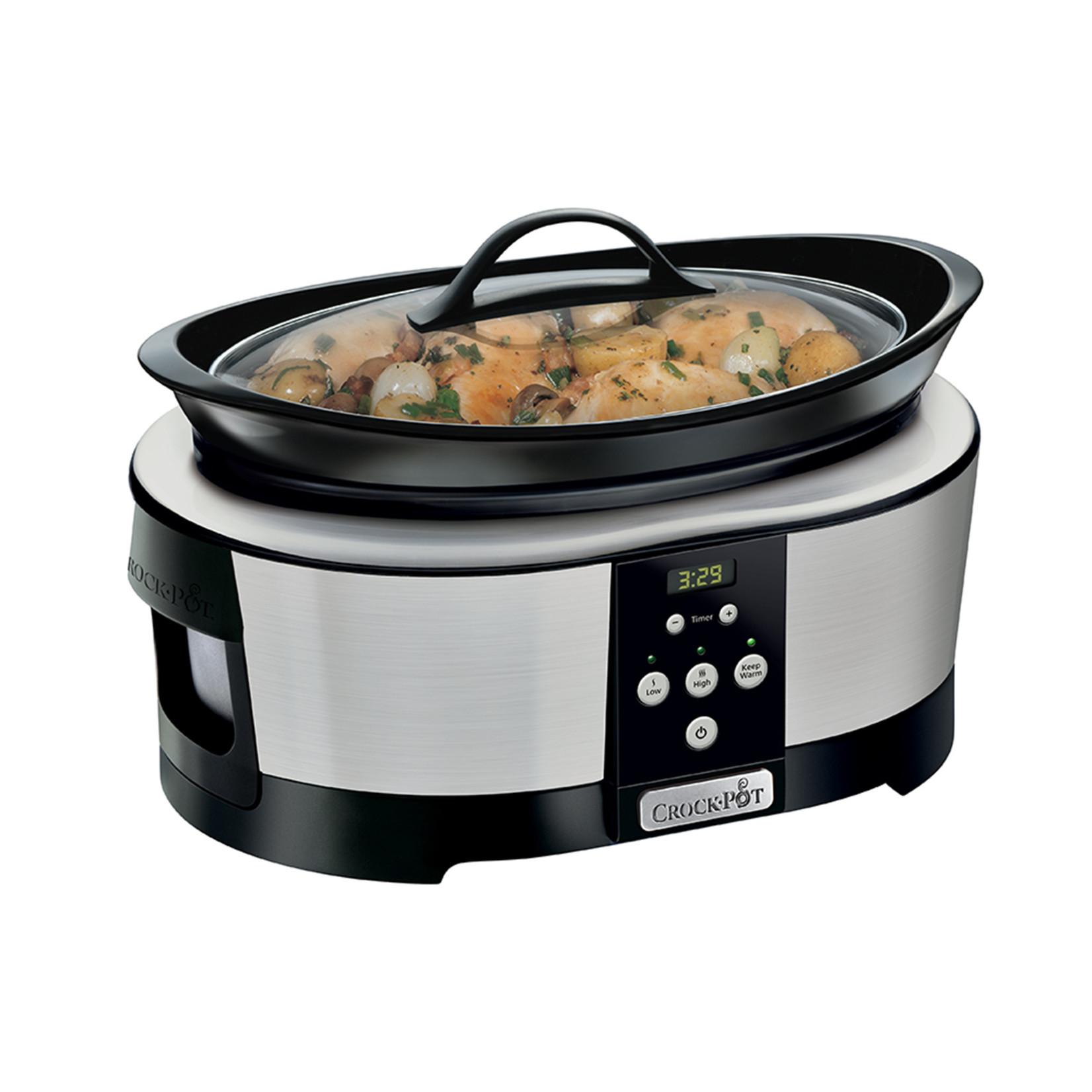 Crock-Pot Crock-Pot Premium slowcooker 5,7L programmeerbaar