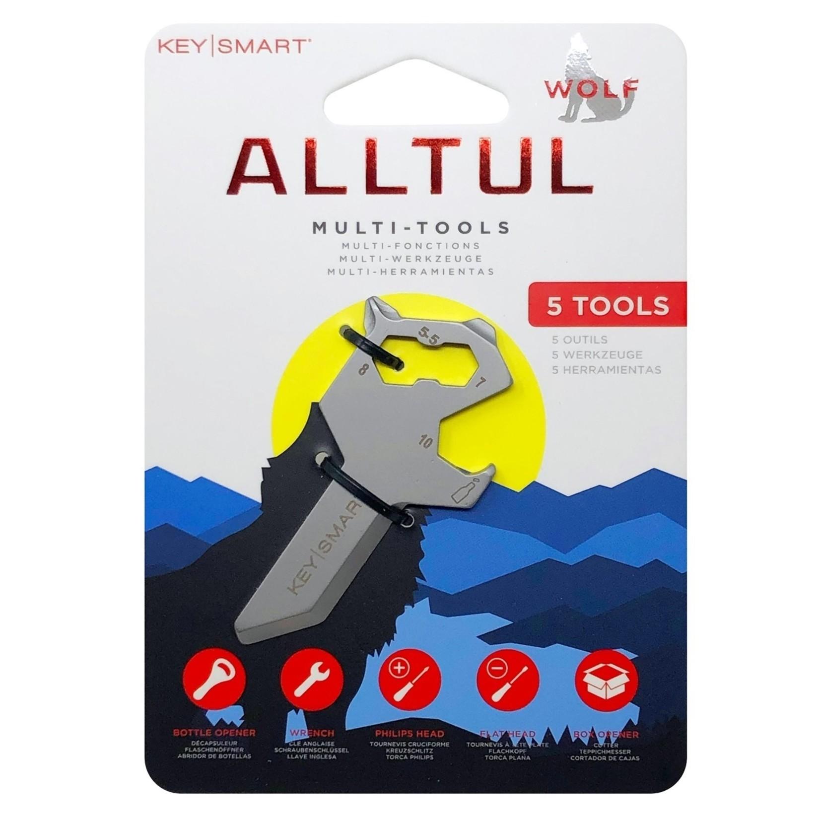 KeySmart KeySmart Alltul multitool Wolf