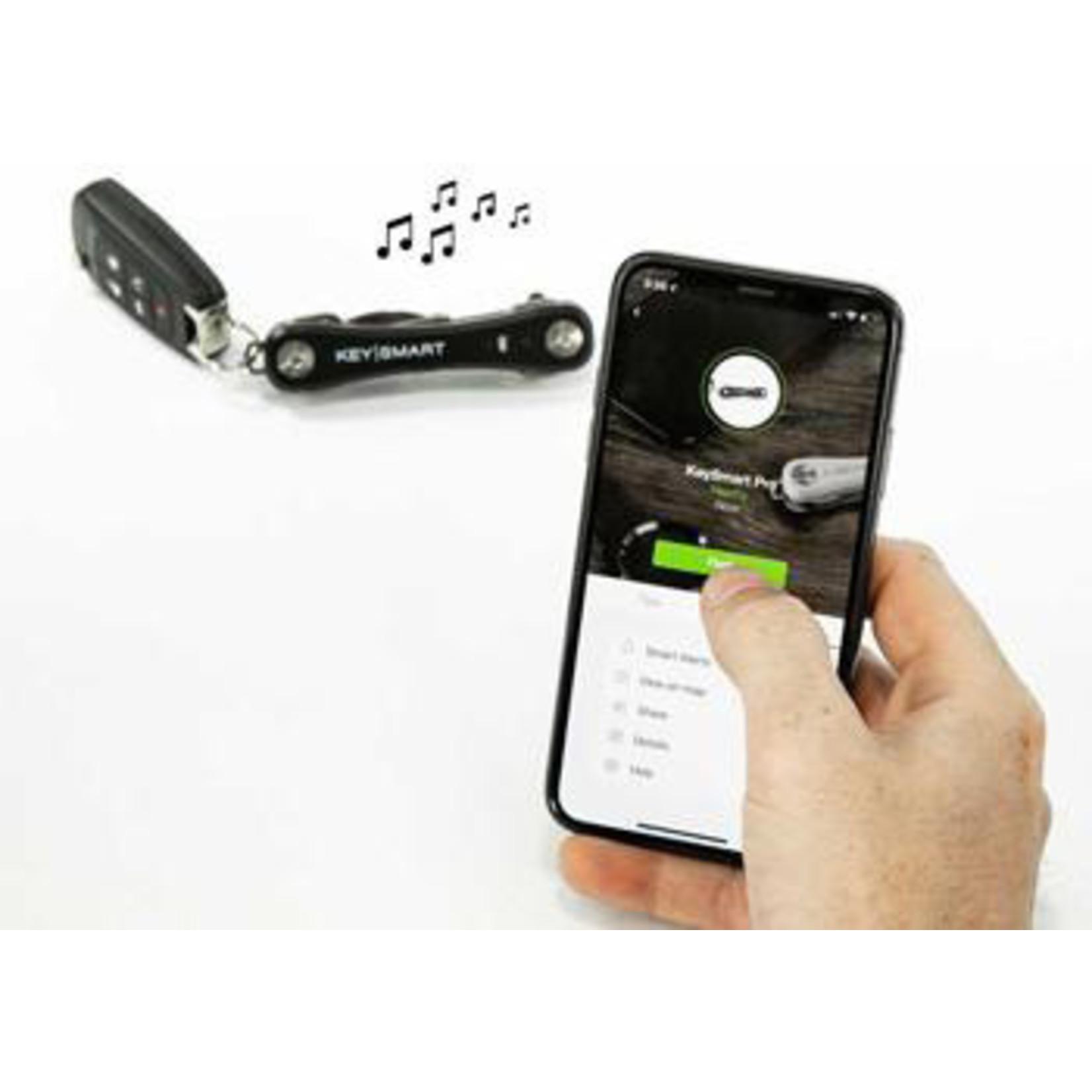 KeySmart KeySmart Pro sleutelhouder met Tile Smart zwart