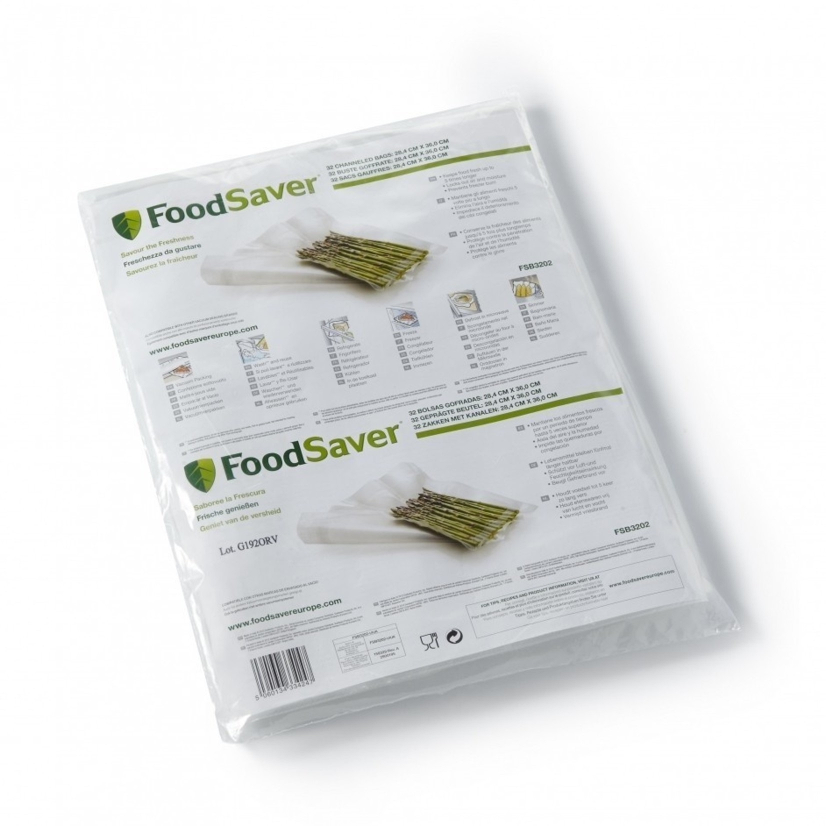 Foodsaver FoodSaver vershoudzak 28x36cm 32 stuks