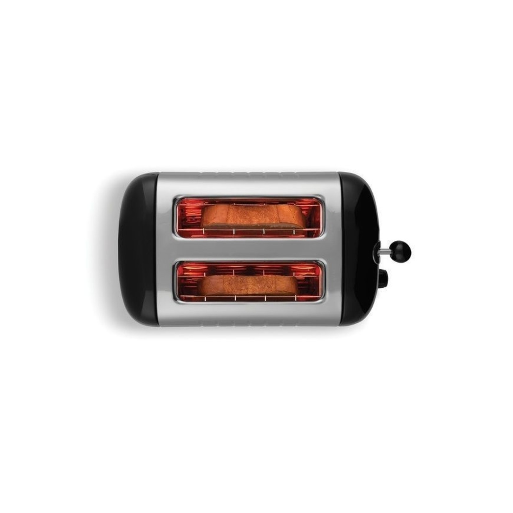 Dualit Dualit Lite Gloss Broodrooster 2-Slots Zwart