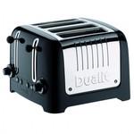 Dualit Lite Gloss Broodrooster 4-slot Zwart