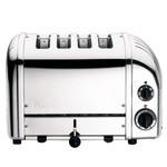 Dualit NewGen Broodrooster 4-Slots RVS inclusief 2 Tostiklemmen /  D47210