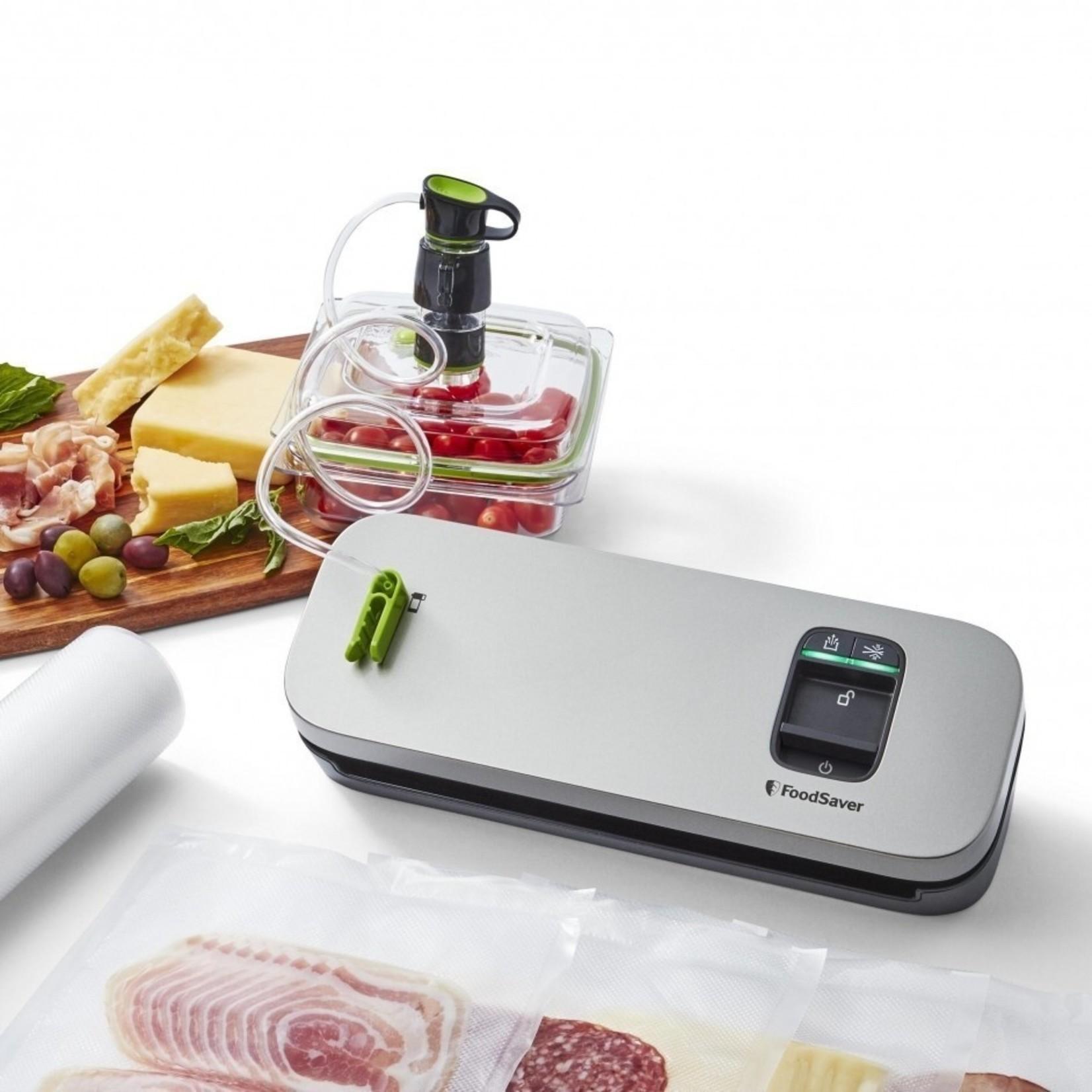 Foodsaver Foodsaver vacumeermachine Compact Zilver
