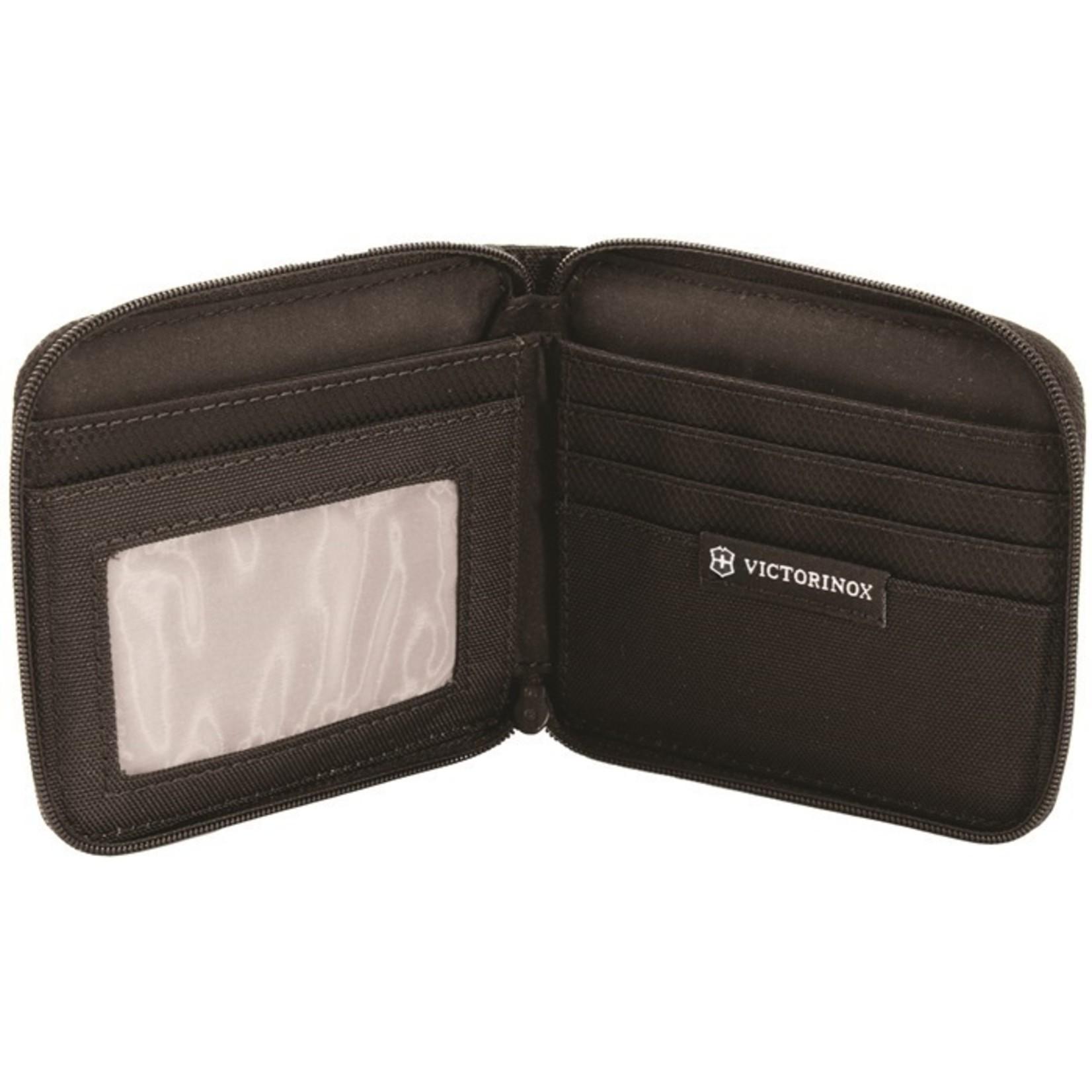 Victorinox Victorinox portemonnee Zip-Around, zwart