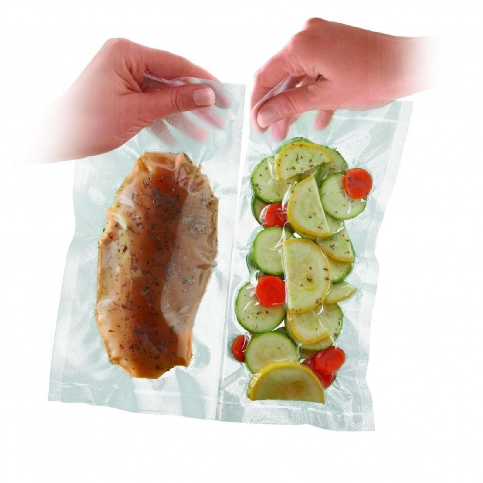 Foodsaver Foodsaver folierollen Portion Pack 24x480cm 2 stuks