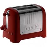 Dualit Dualit Lite Gloss Broodrooster 2-Slots Rood