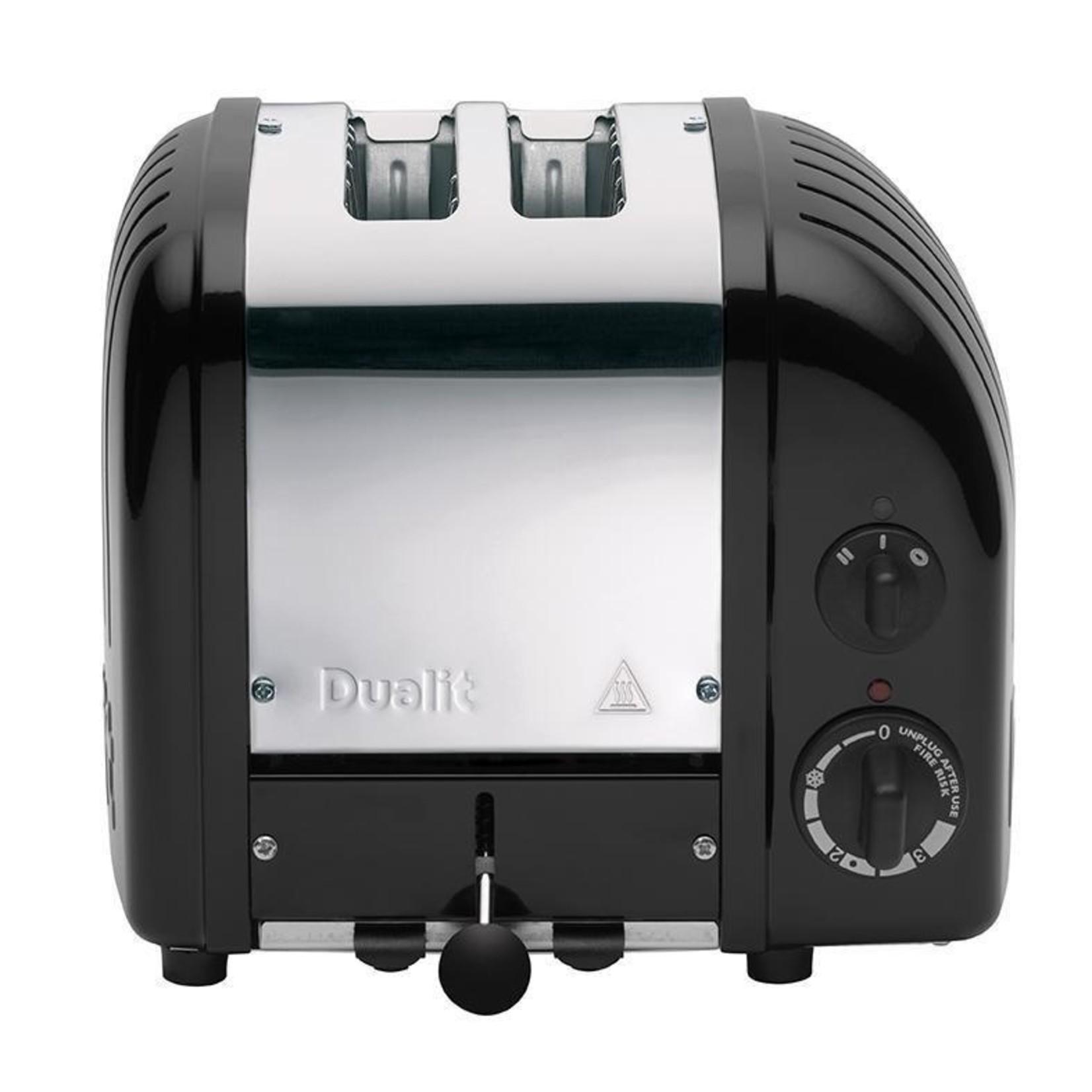 Dualit Dualit Vario NewGen Broodrooster 2 slots RVS Zwart