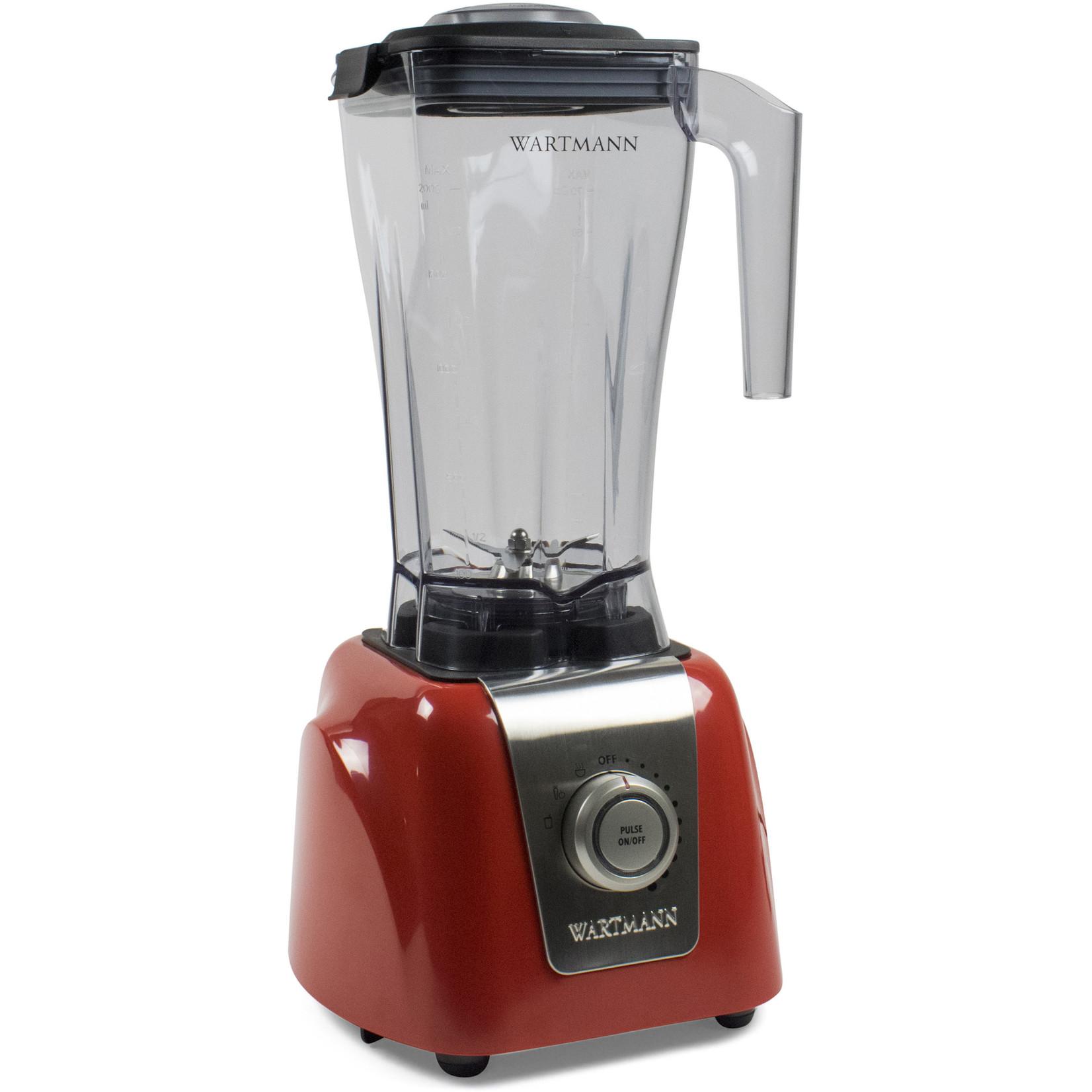 Wartmann Wartmann blender 2 liter rood