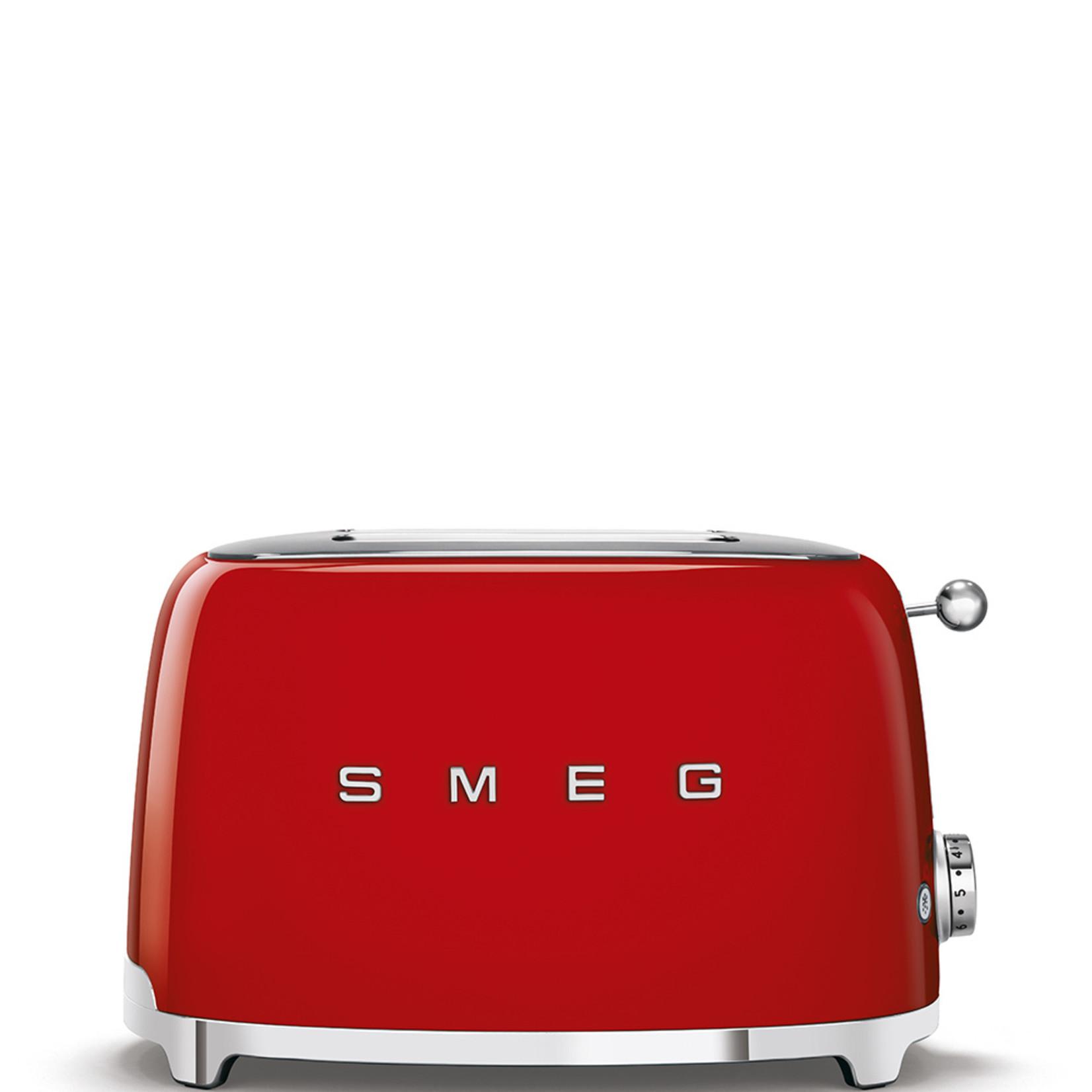 Smeg Smeg Broodrooster TSF01RDEU, 2x2 rood