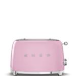 Smeg Broodrooster, 2x2 roze