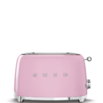 Smeg Smeg Broodrooster, 2x2 roze