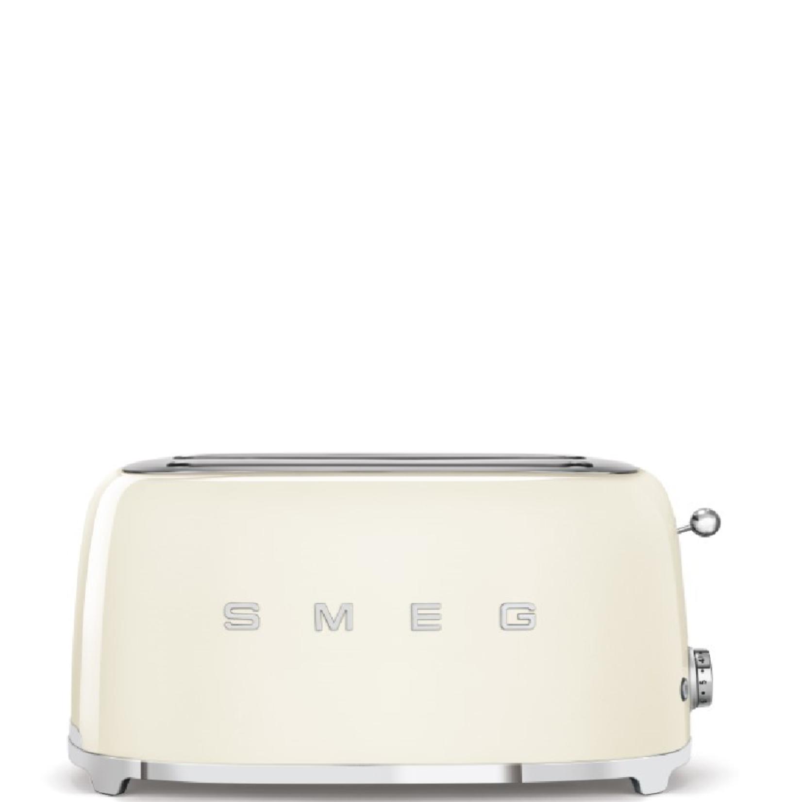 Smeg Smeg Broodrooster TSF02CREU, 2x4 creme