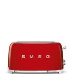 Smeg Smeg Broodrooster, 2x4 rood