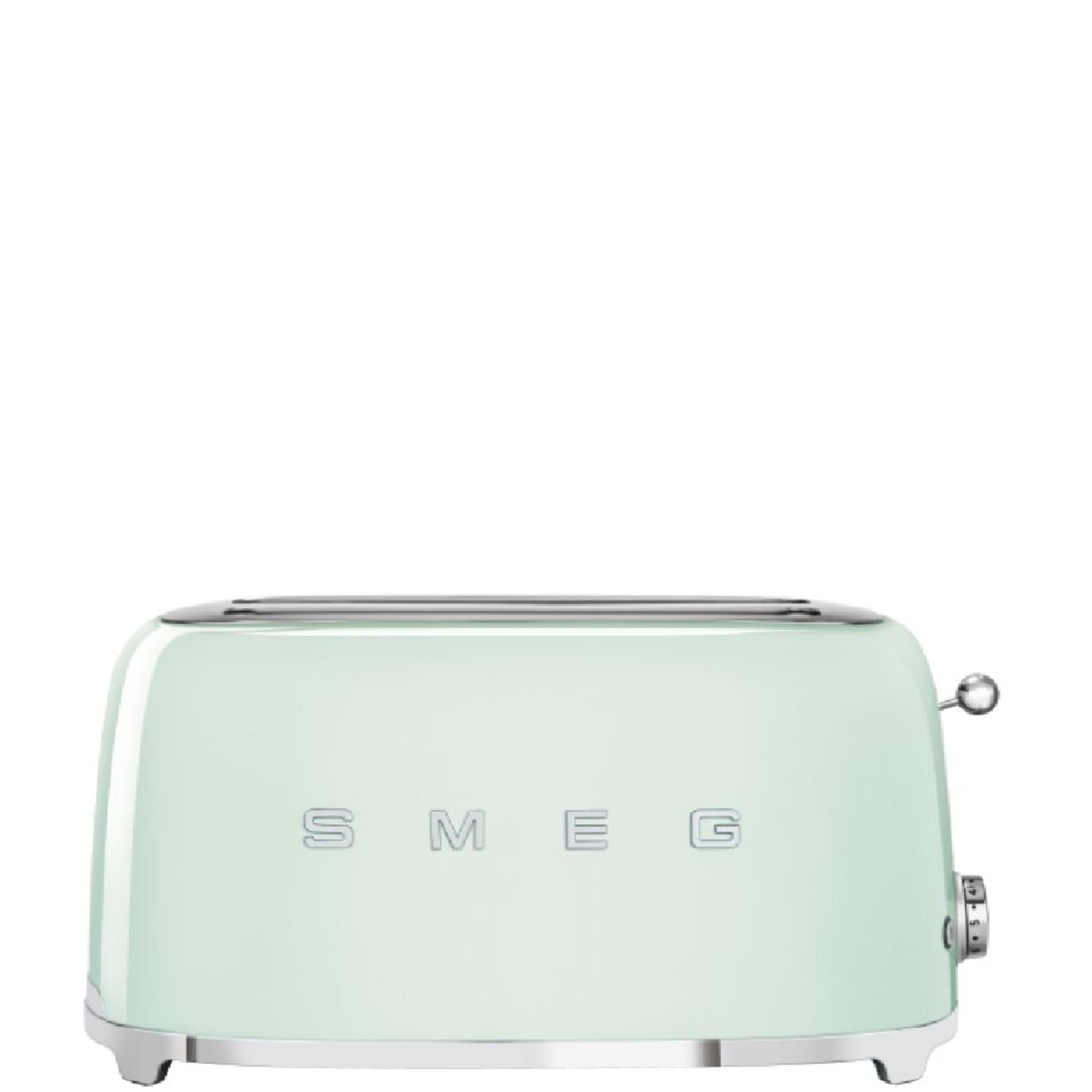 Smeg Smeg Broodrooster TSF02PGEU, 2x4 watergroen