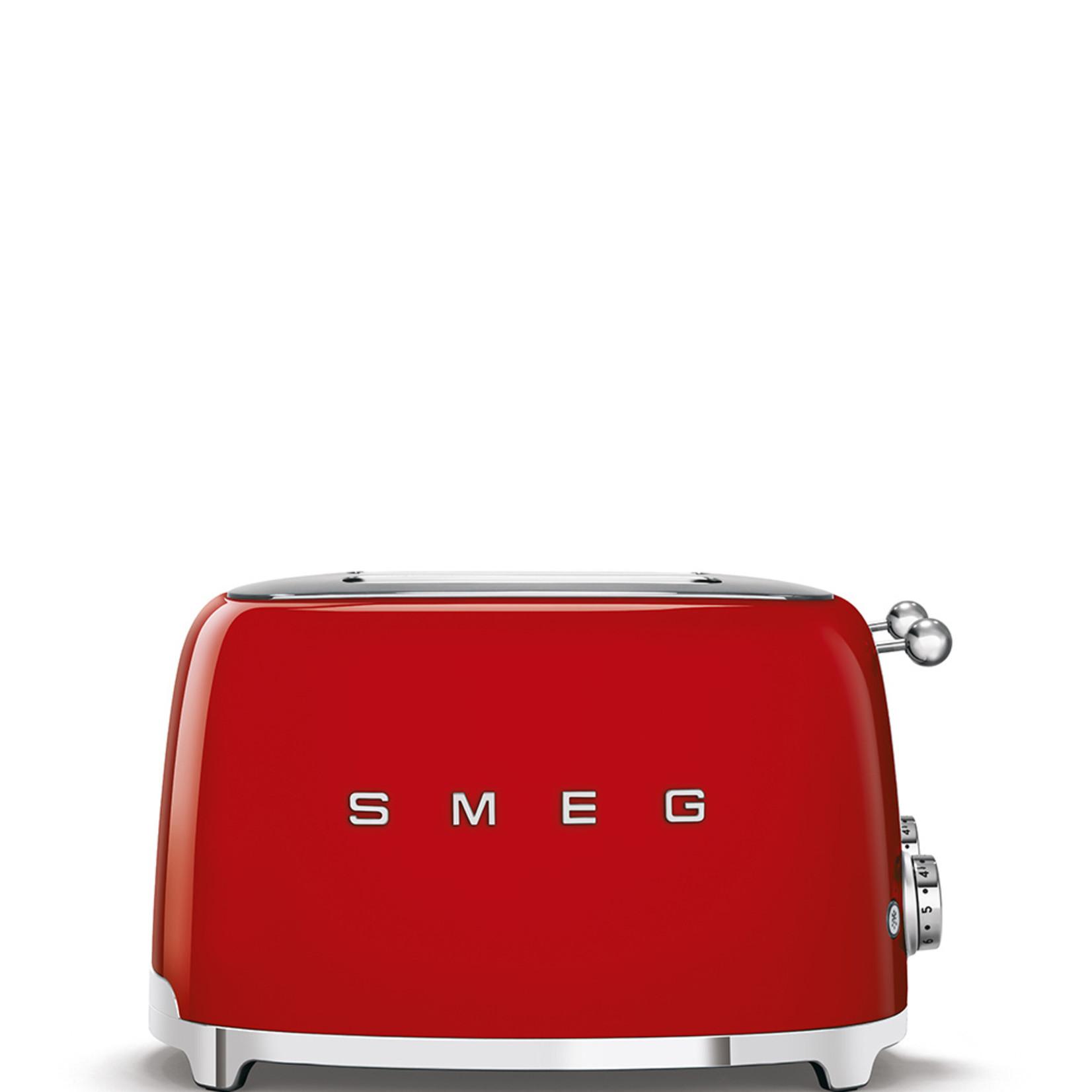 Smeg Smeg Broodrooster TSF03RDEU, 4x4 rood