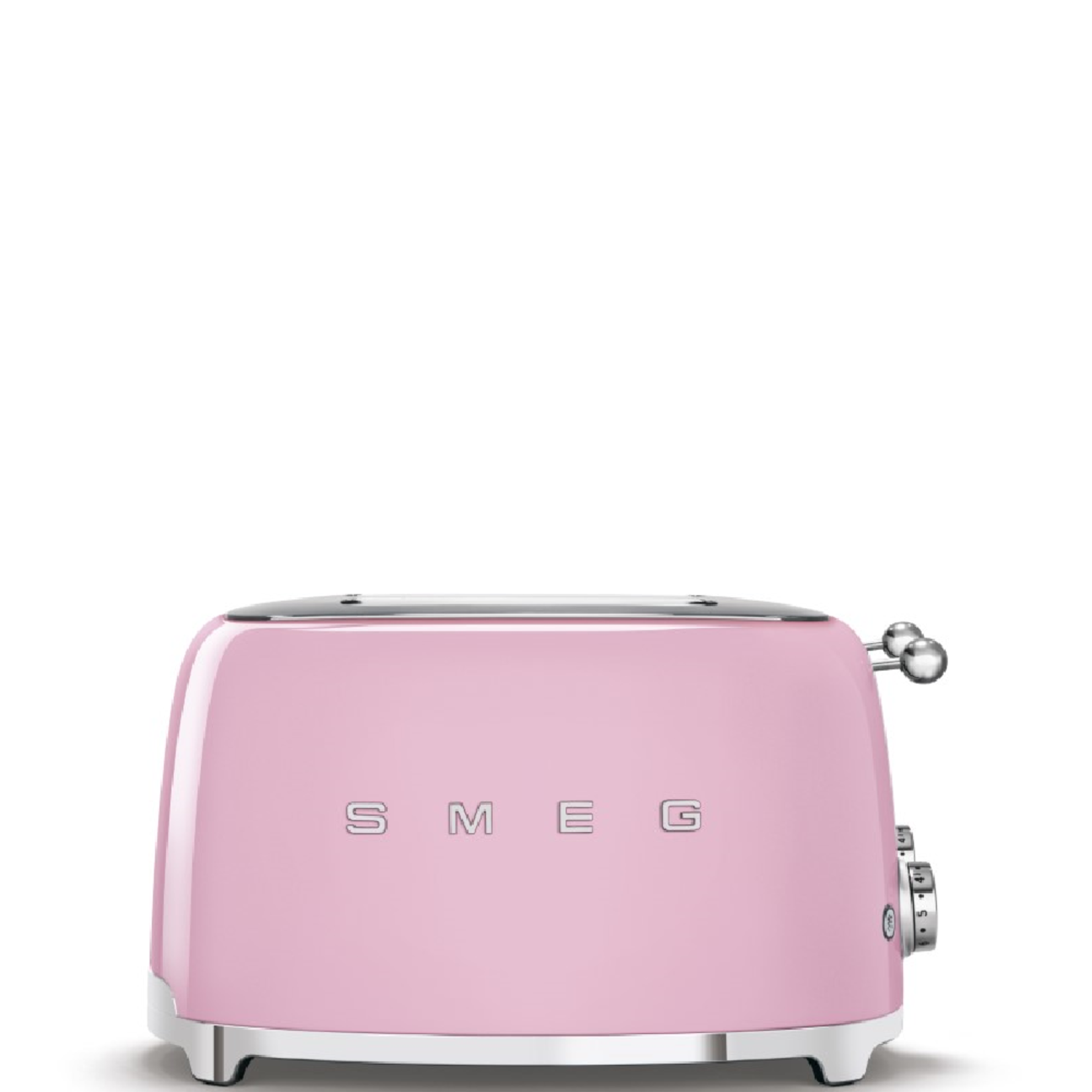 Smeg Smeg Broodrooster TSF03PKEU, 4x4 roze