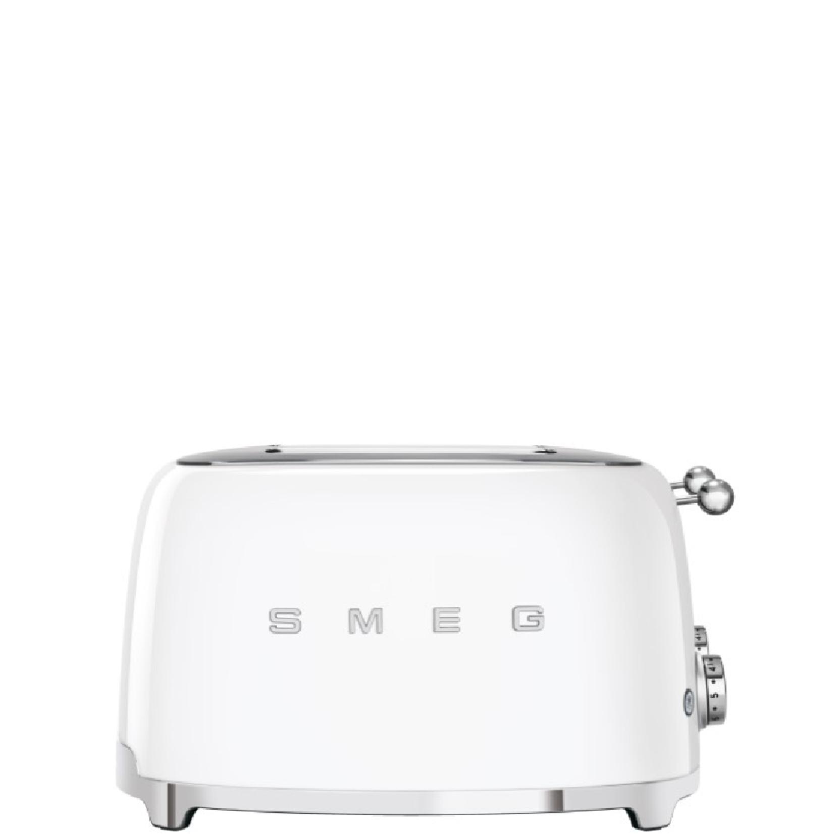 Smeg Smeg Broodrooster TSF03WHEU, 4x4 wit